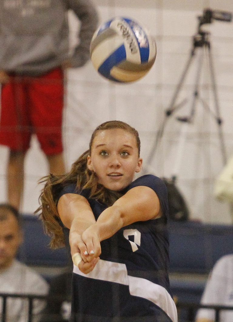 Mark Mulville / Buffalo News    St. Mary's Leah Meyer is receiving national attention.