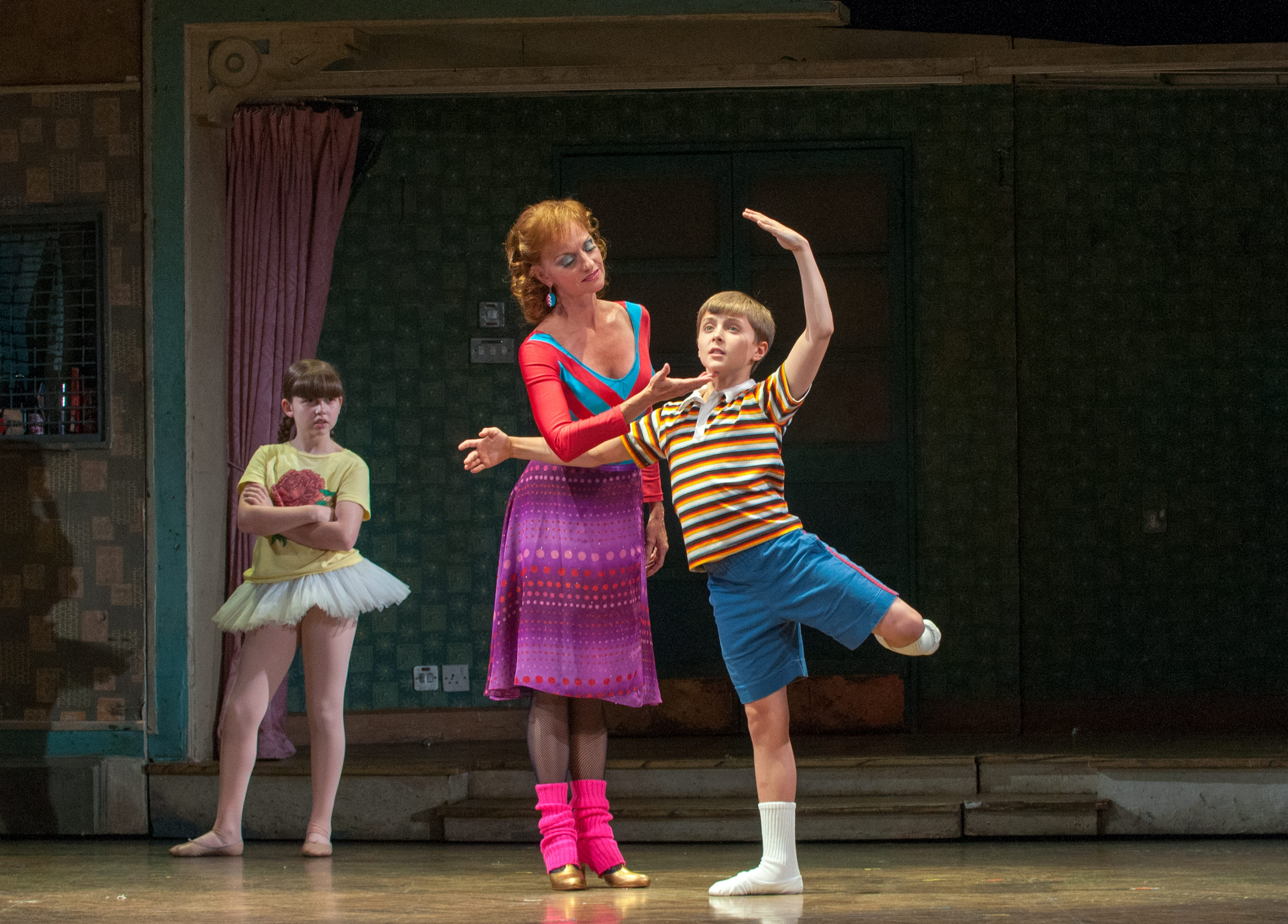 Noah Parets is one of four boys starring in the touring production of 'Billy Elliot,' coming to Shea's Performing Arts Center on Tuesday for seven performances.