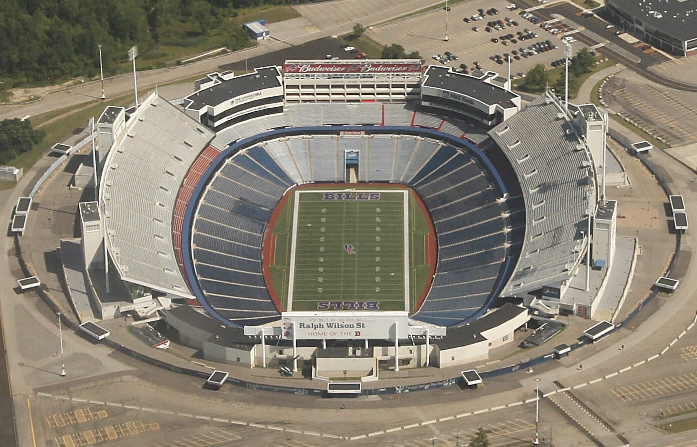 Buffalo News file photo    The Buffalo Bills are in the last year of a 15-year lease of Ralph Wilson Stadium in Orchard Park. ?The team is asking for between $200 million and $220 million in stadium improvements.