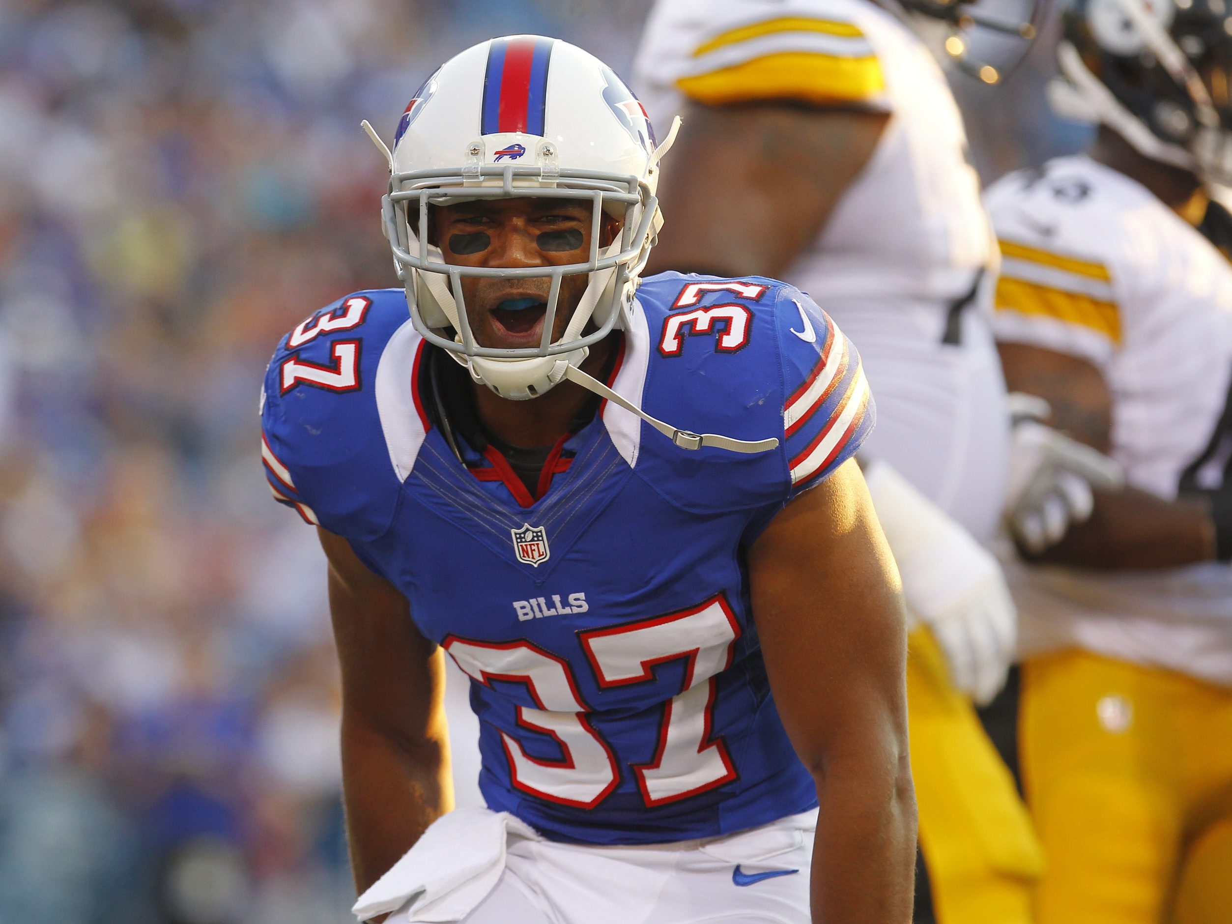 Mark Mulville / Buffalo News    George Wilson began with the Bills on the practice squad.