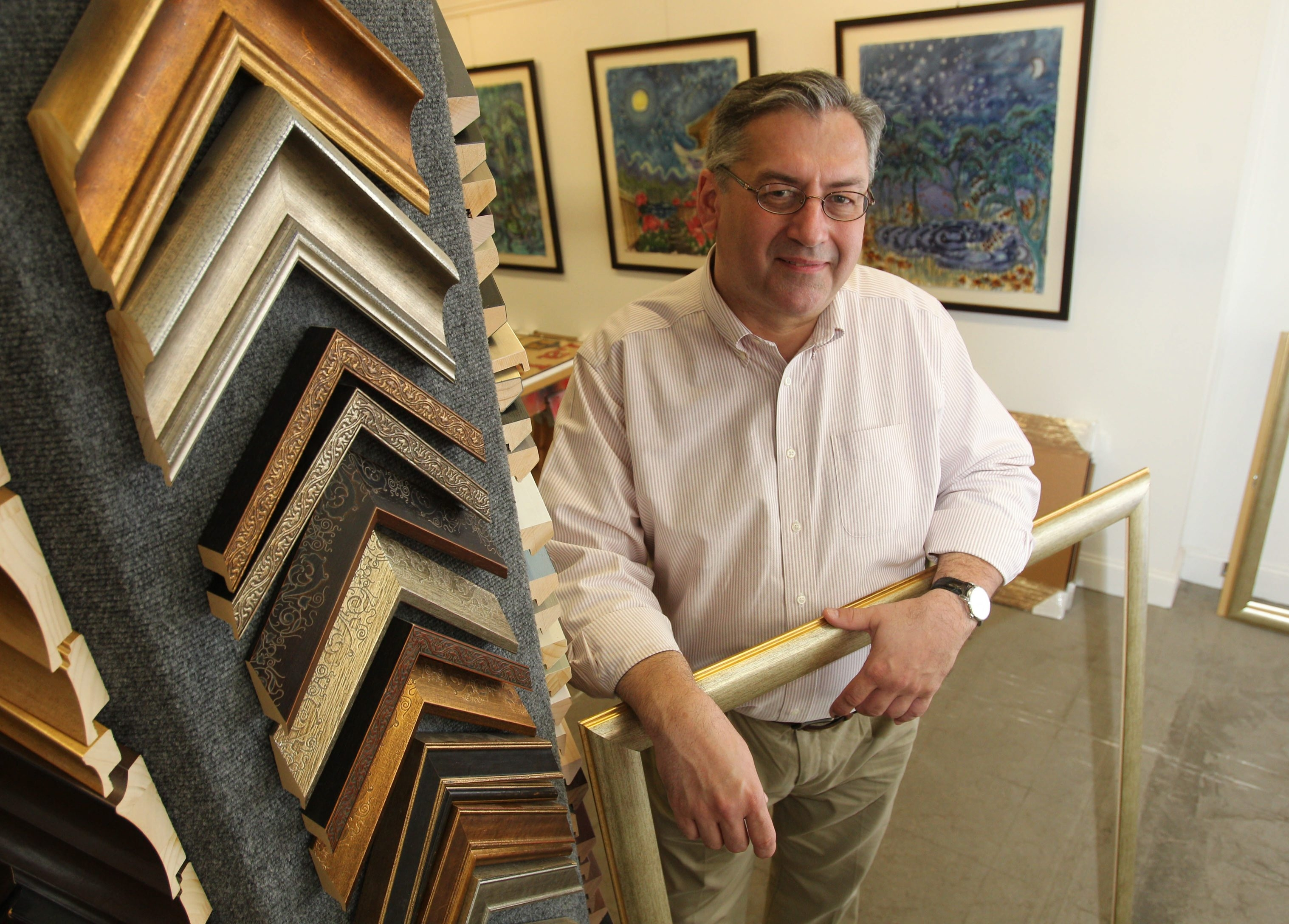 'I've spent a lot of time reading, touring museums, helping people who collect privately to build their collections. The framing is most successful when you establish a relationship.'- Dennis Wisniewski