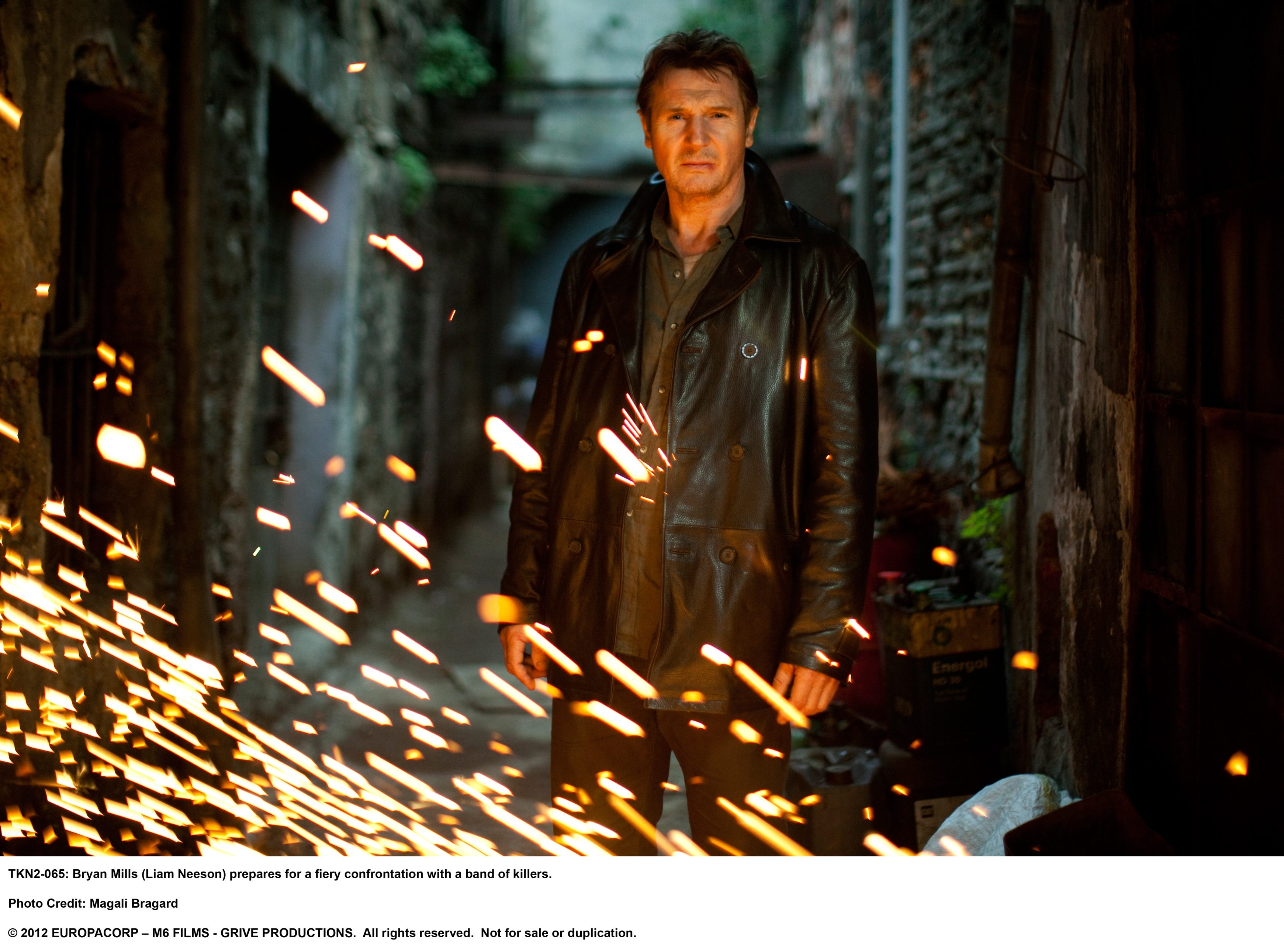 Liam Neeson reprises his role as Bryan Mills.
