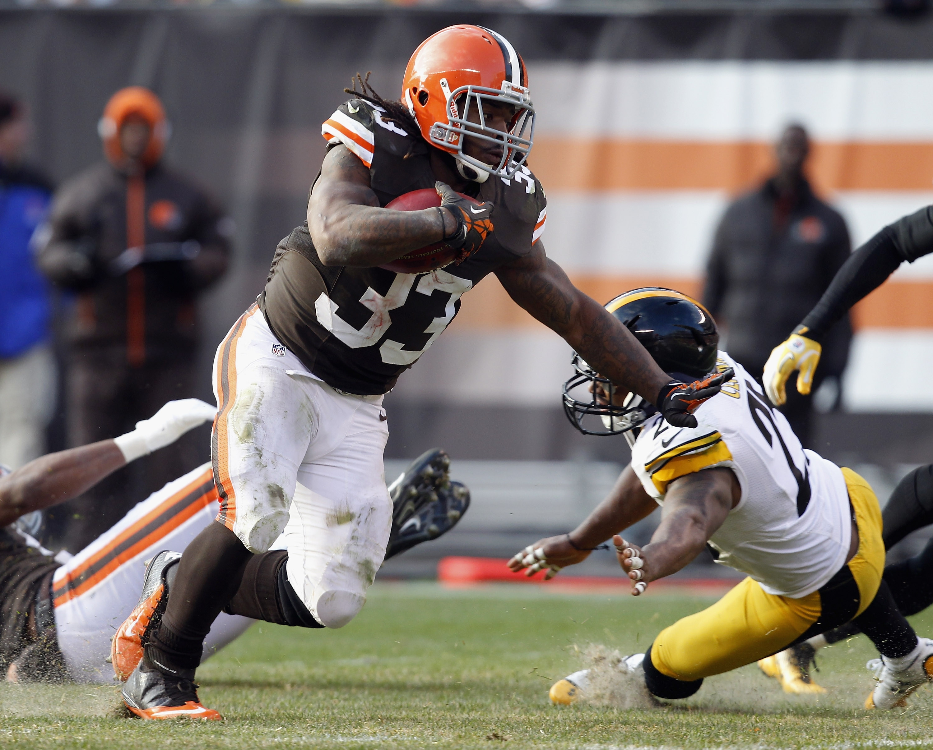 Cleveland running back Trent Richardson has put up good fantasy numbers the past four games.