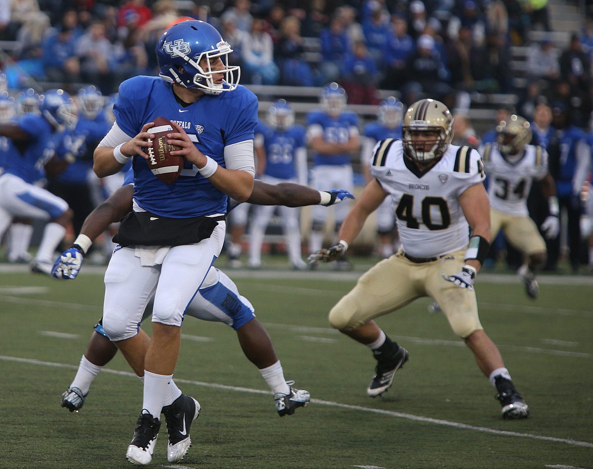 Redshirt freshman quarterback Joe Licata helped lead UB to three straight late-season wins.