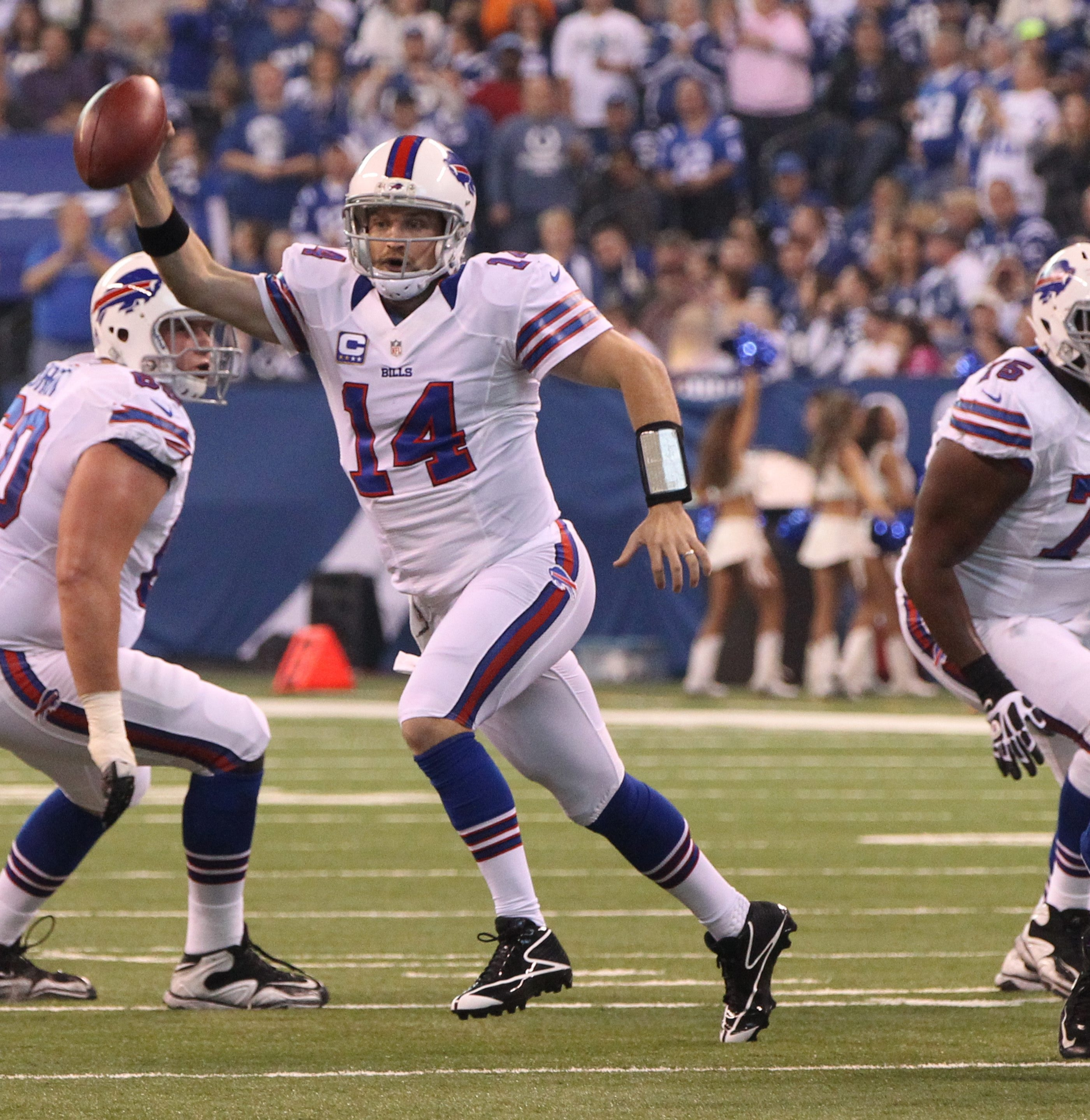 Ryan Fitzpatrick has led the Bills to four wins this season against teams that are a combined 13-31.