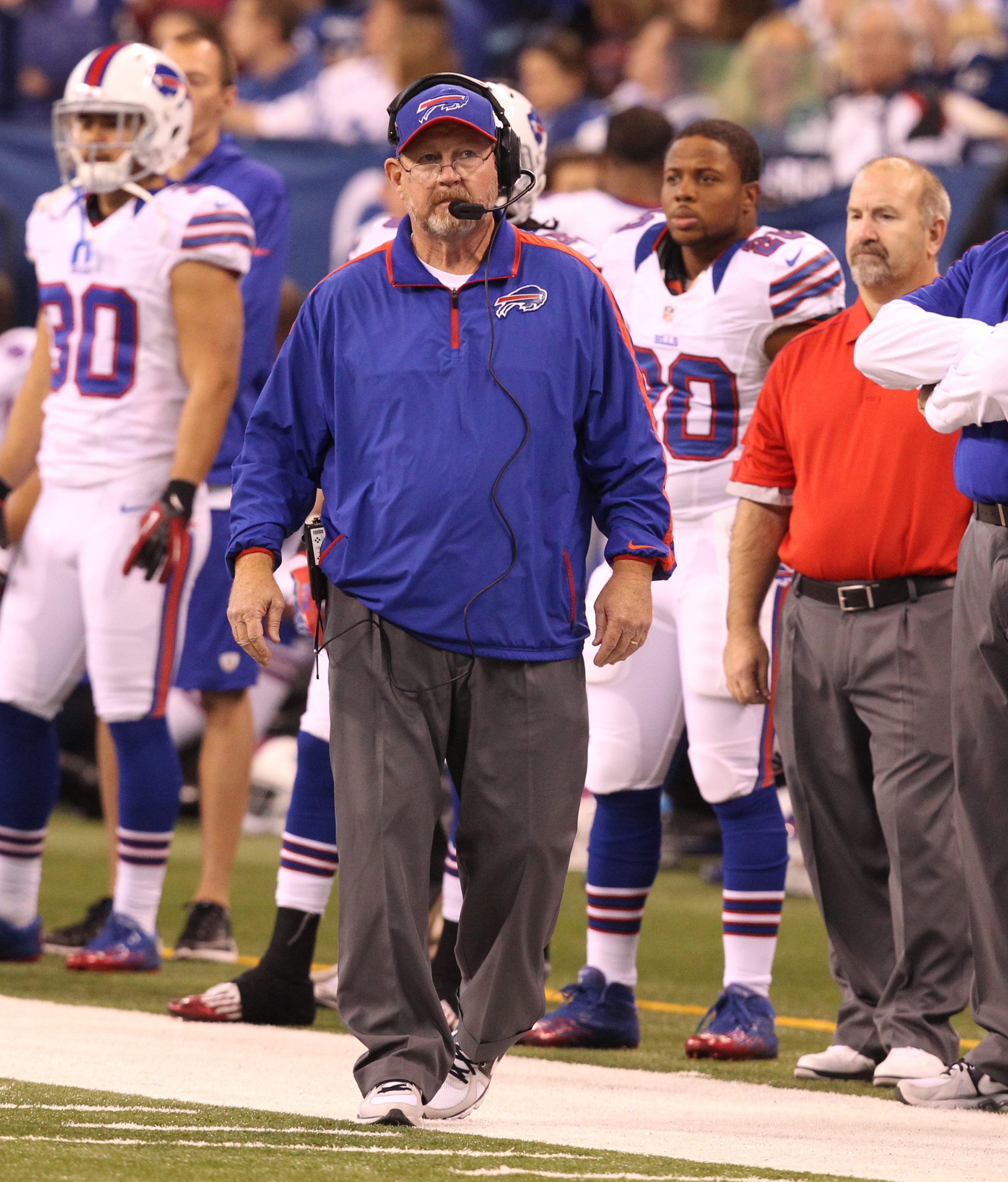 Chan Gailey wants all three units on the Bills playing well.