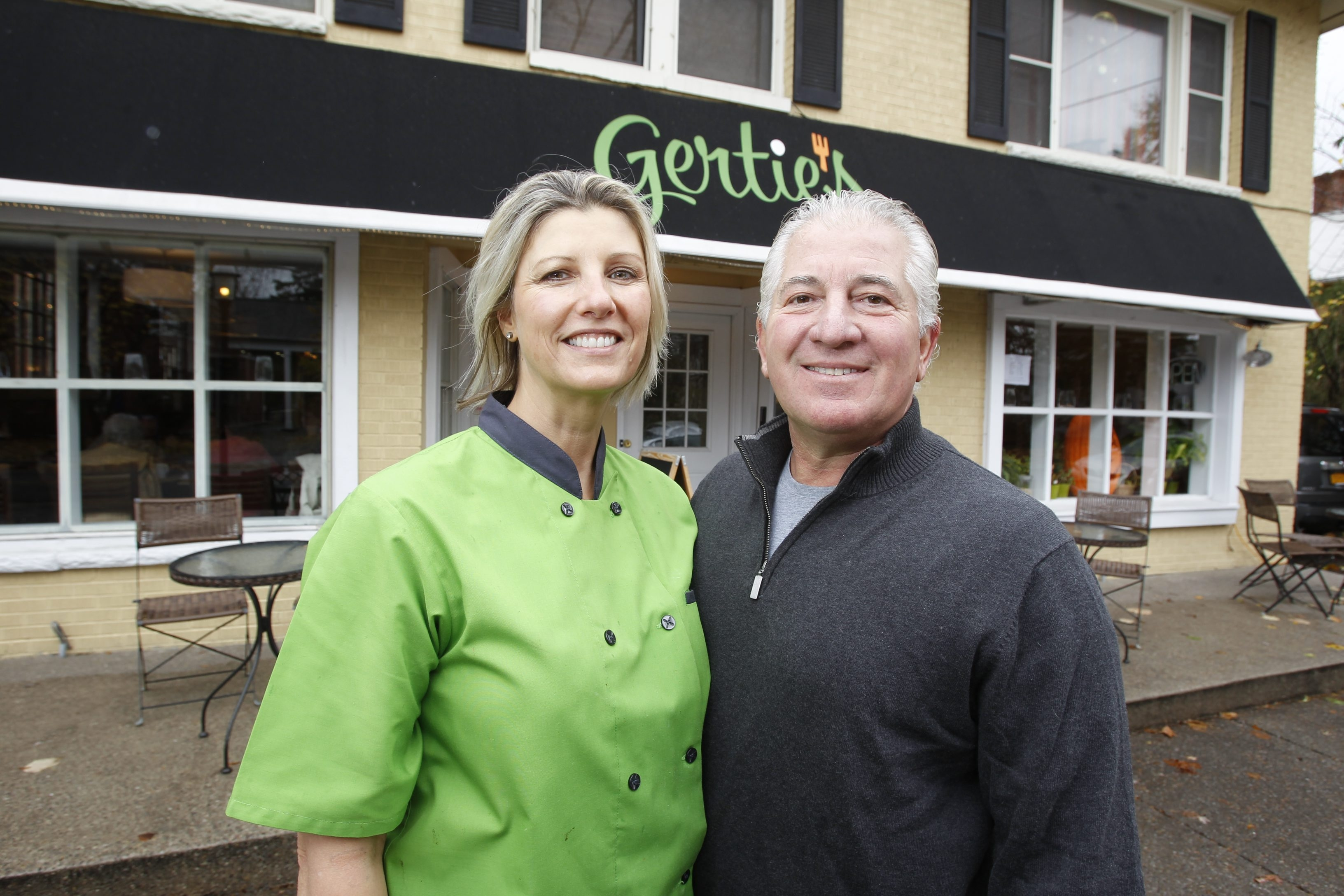 When Beth Gross met Gary Held in a Florida airport in 2007, little did she know that meeting would mean her leaving her job, moving to the Buffalo Niagara region from Chicago, and opening Gertie's restaurant.
