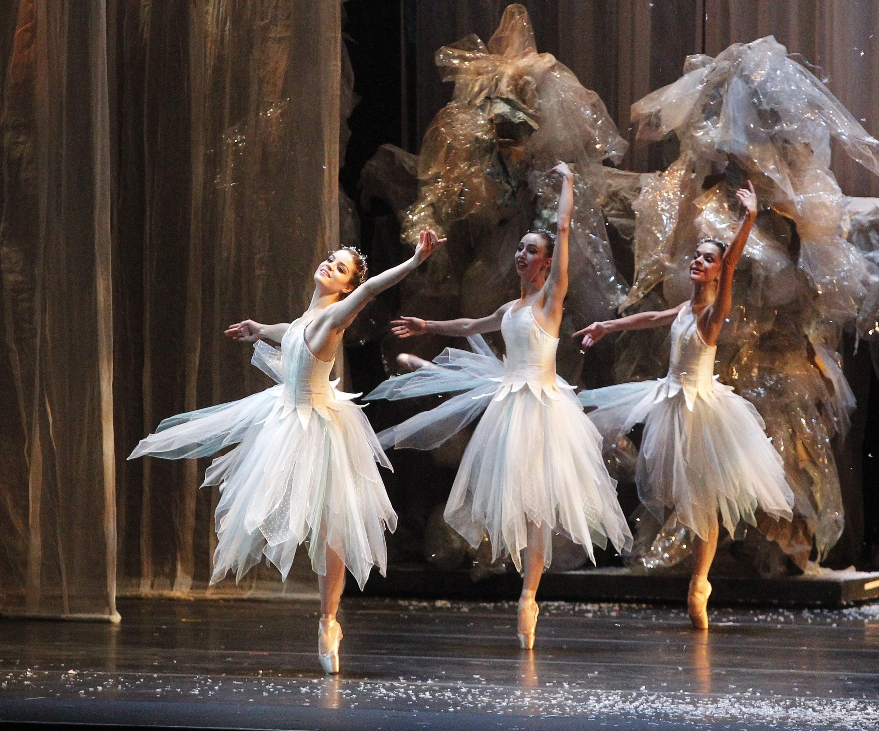 "Dancers from Neglia Ballet Artists perform ""The Nutcracker"" on stage at Shea's Performing Arts Theatre on Saturday."