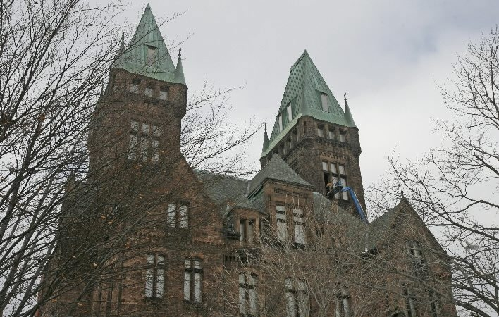 The H.H. Richardson Building at the Buffalo Psychiatric Center. (Derek Gee/Buffalo News file photo)