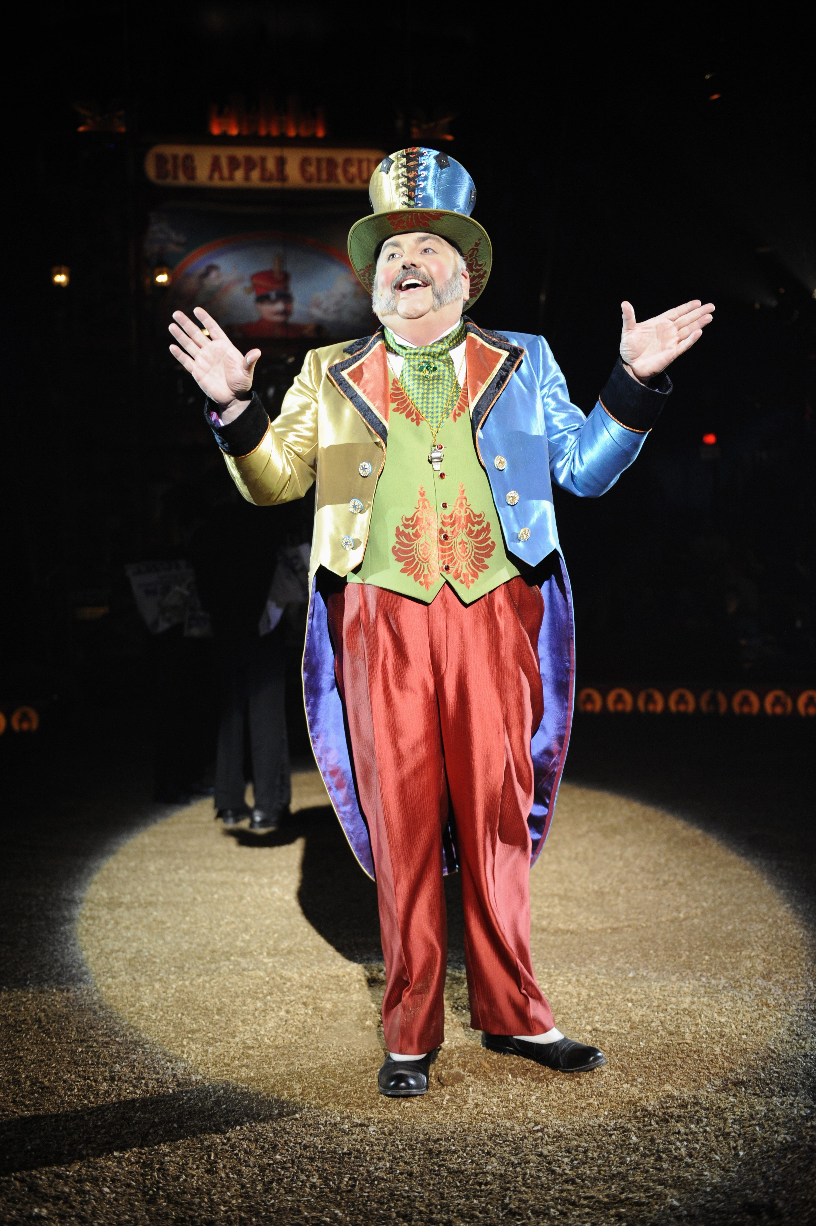 """""""Of all my years being a clown, I'm finally a ringmaster and they've got me in a clown costume.""""– John Kennedy Kane"""