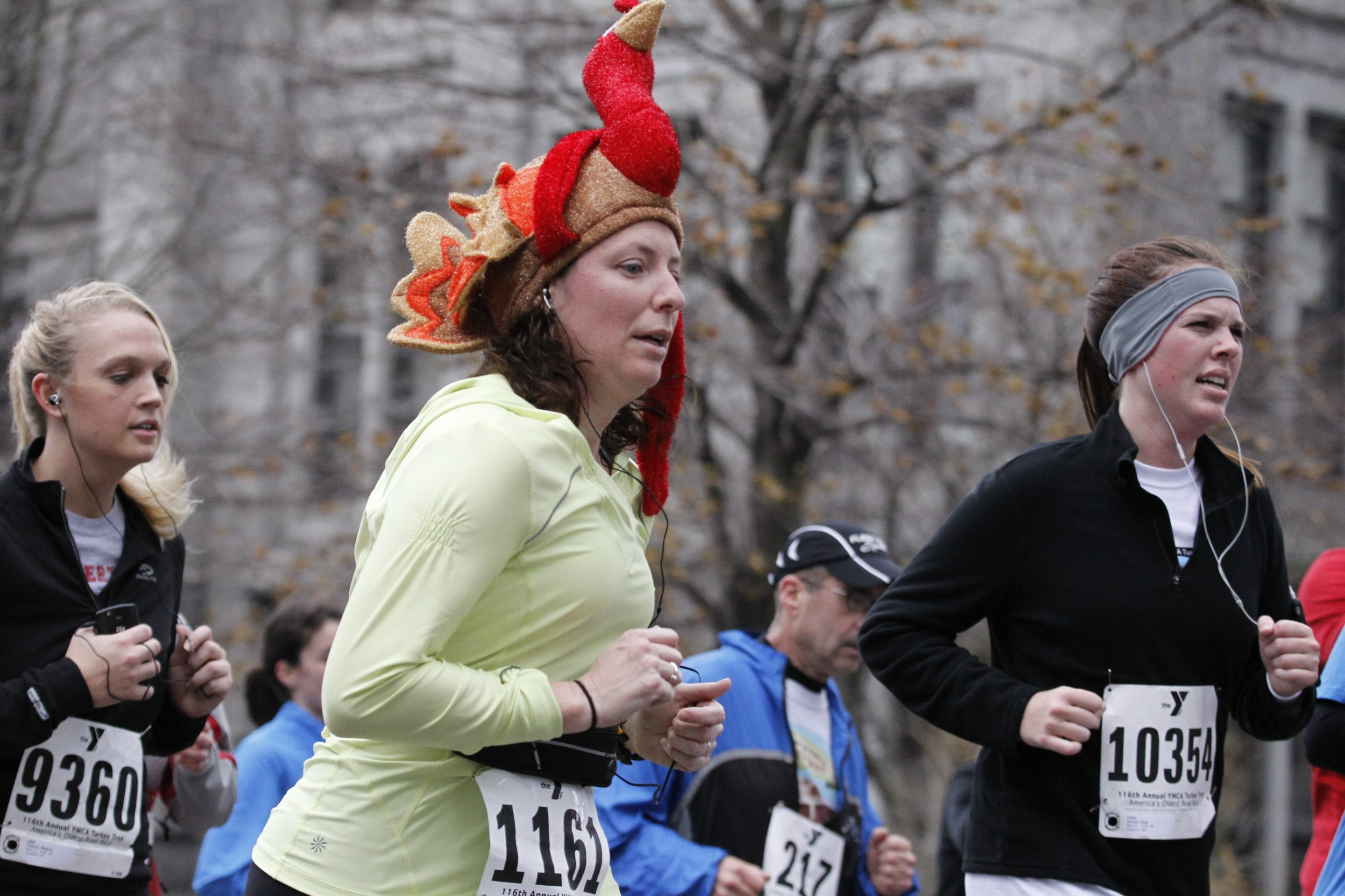 Harry Scull Jr./Buffalo News file photo    Runners make their way up Franklin Street to the finish line in last year's Turkey Trot.