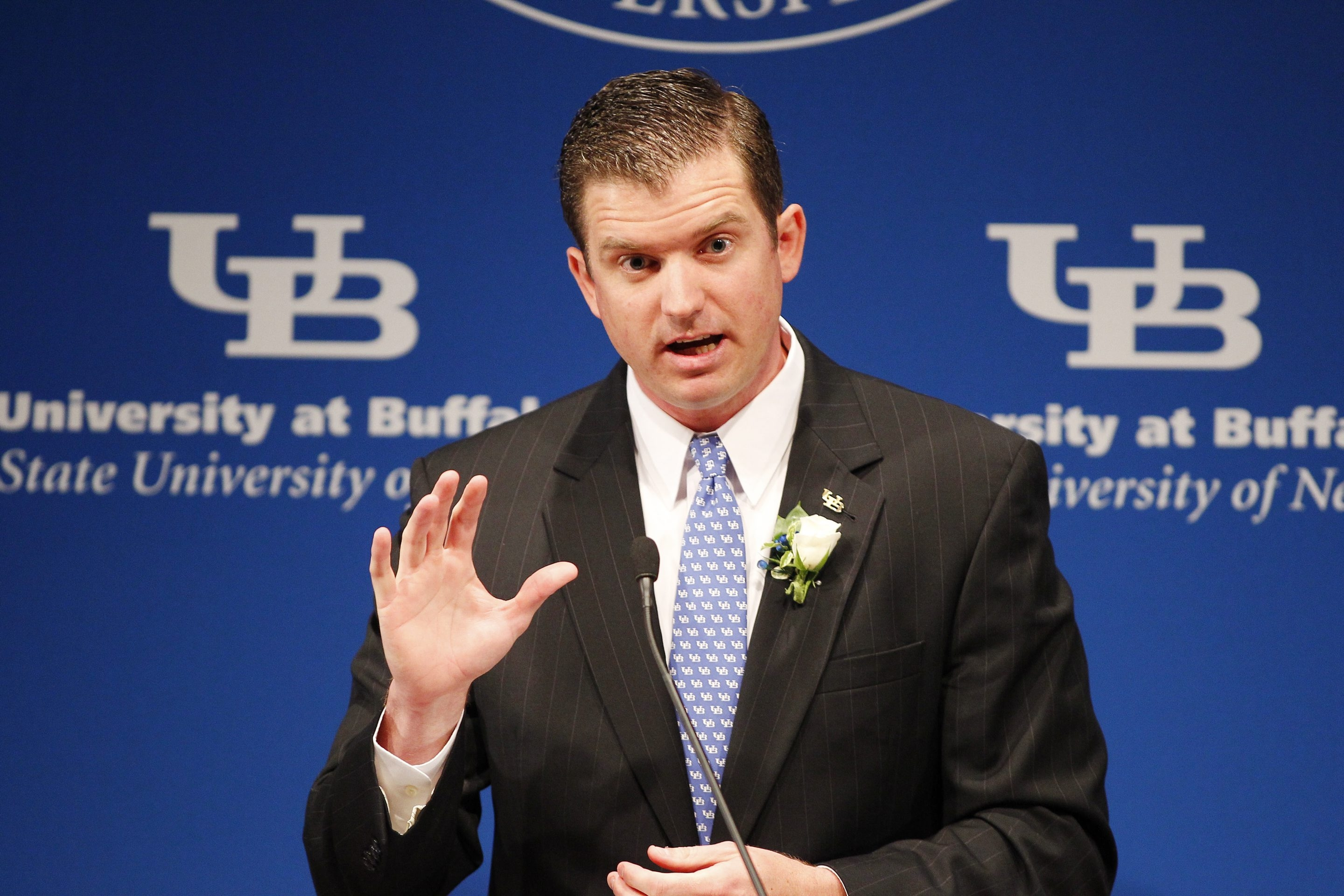UB athletic director Danny White says the new playoff format puts the onus on  the MAC to be competitive.