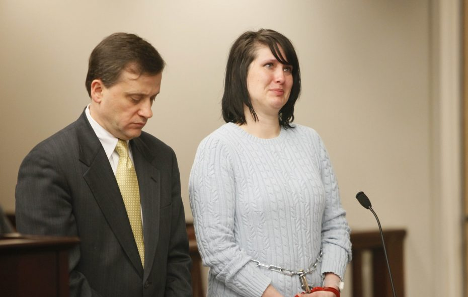 Cara L. Dickey, a former charter school teacher convicted of rape for having sex with a 14-year-old male student, was found with her girlfriend in a Chicago motel room. (Derek Gee/News file photo)