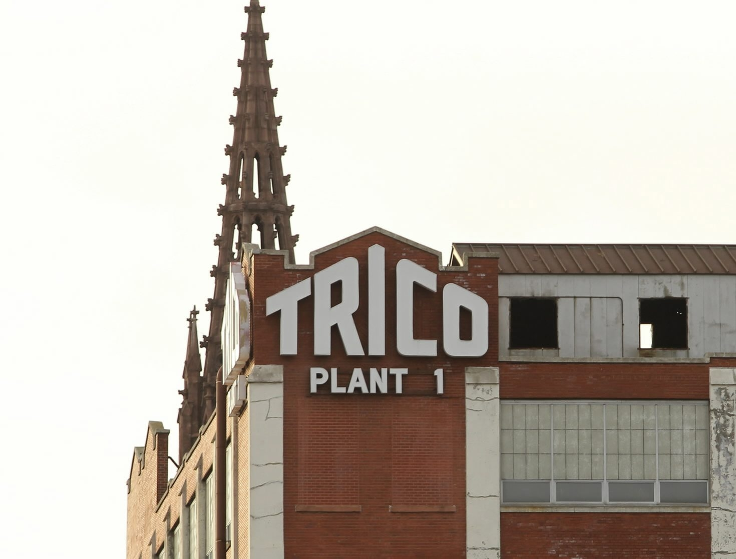 City lawmakers will vote today on whether to designate the Trico complex a local landmark. (Buffalo News file photo)