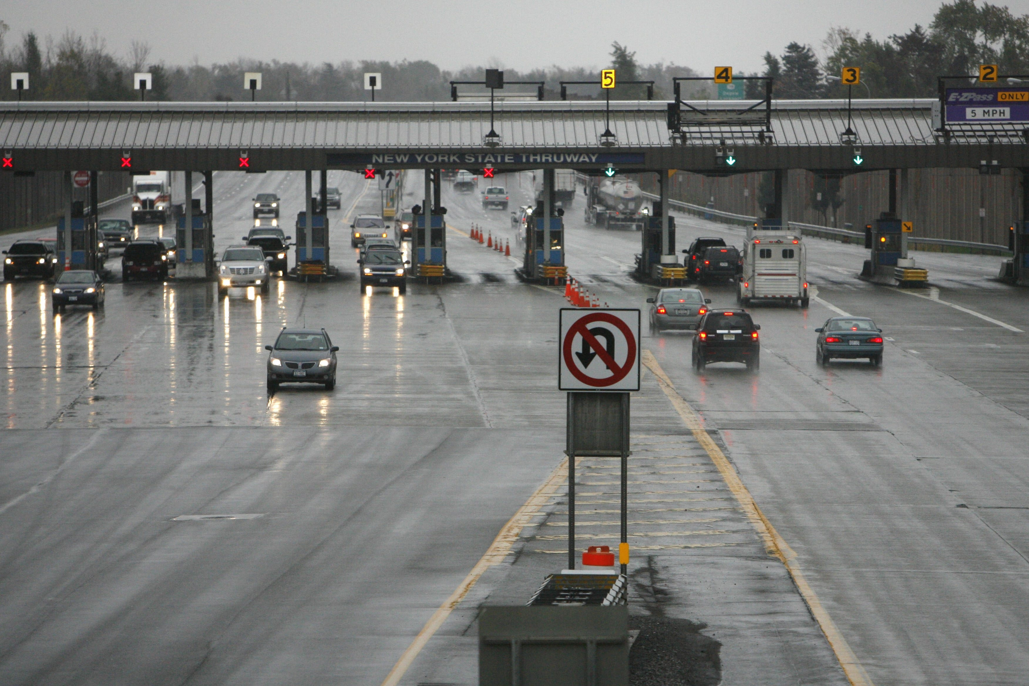 The heavy volume of traffic at the New York State Thruway's Williamsville toll barrier has led to calls for its relocation, but the Thruway Authority has been under pressure to reduce capital expenditures.