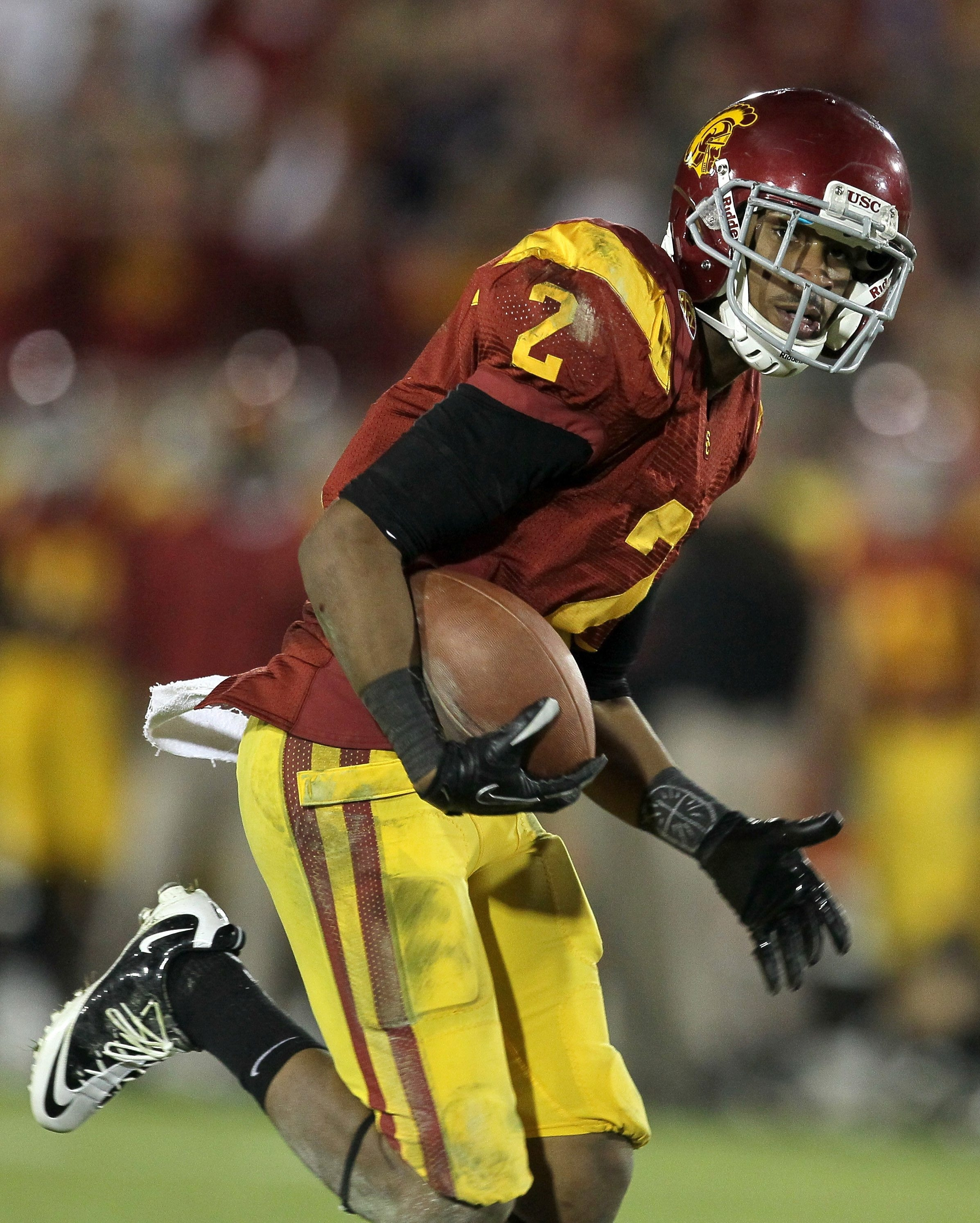 Wide receiver Robert Woods of the USC Trojans was the Bills 41st overall pick in the NFL Draft. (Photo by Stephen Dunn/Getty Images)