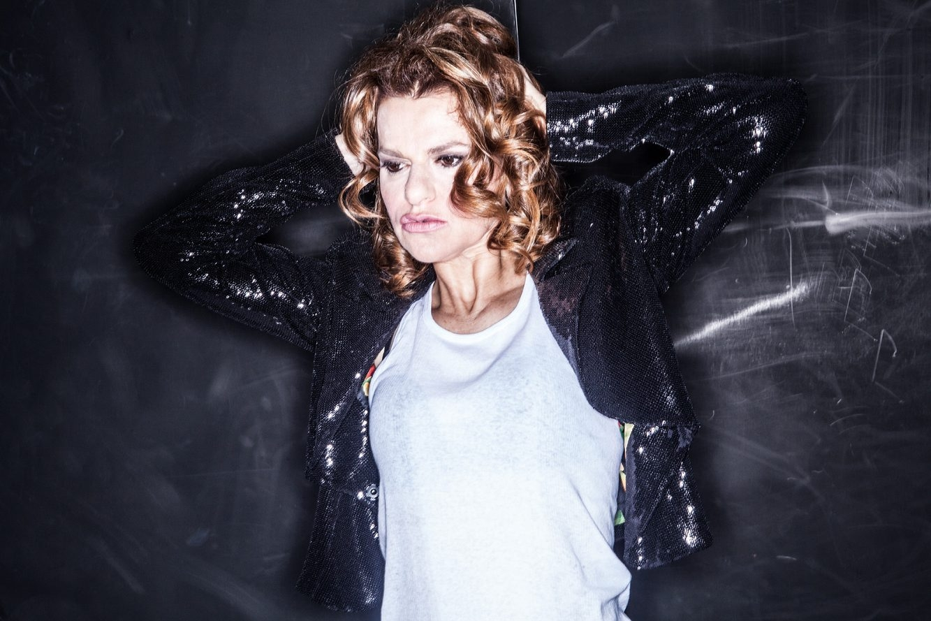 Comedian Sandra Bernhard comes to the Riviera Theatre on Friday.