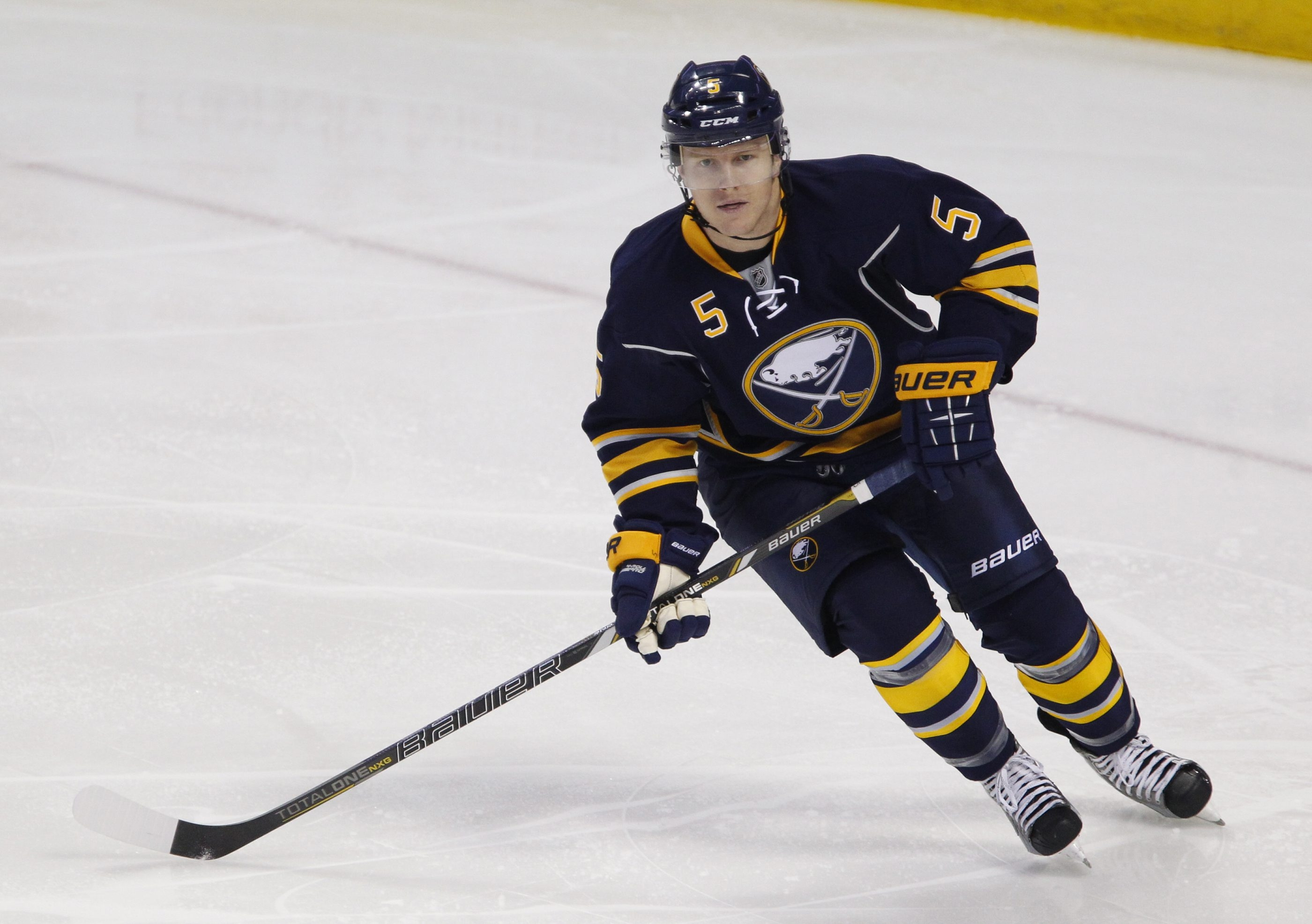 Sabres defenseman Chad Ruhwedel has an even rating in his first six NHL games.