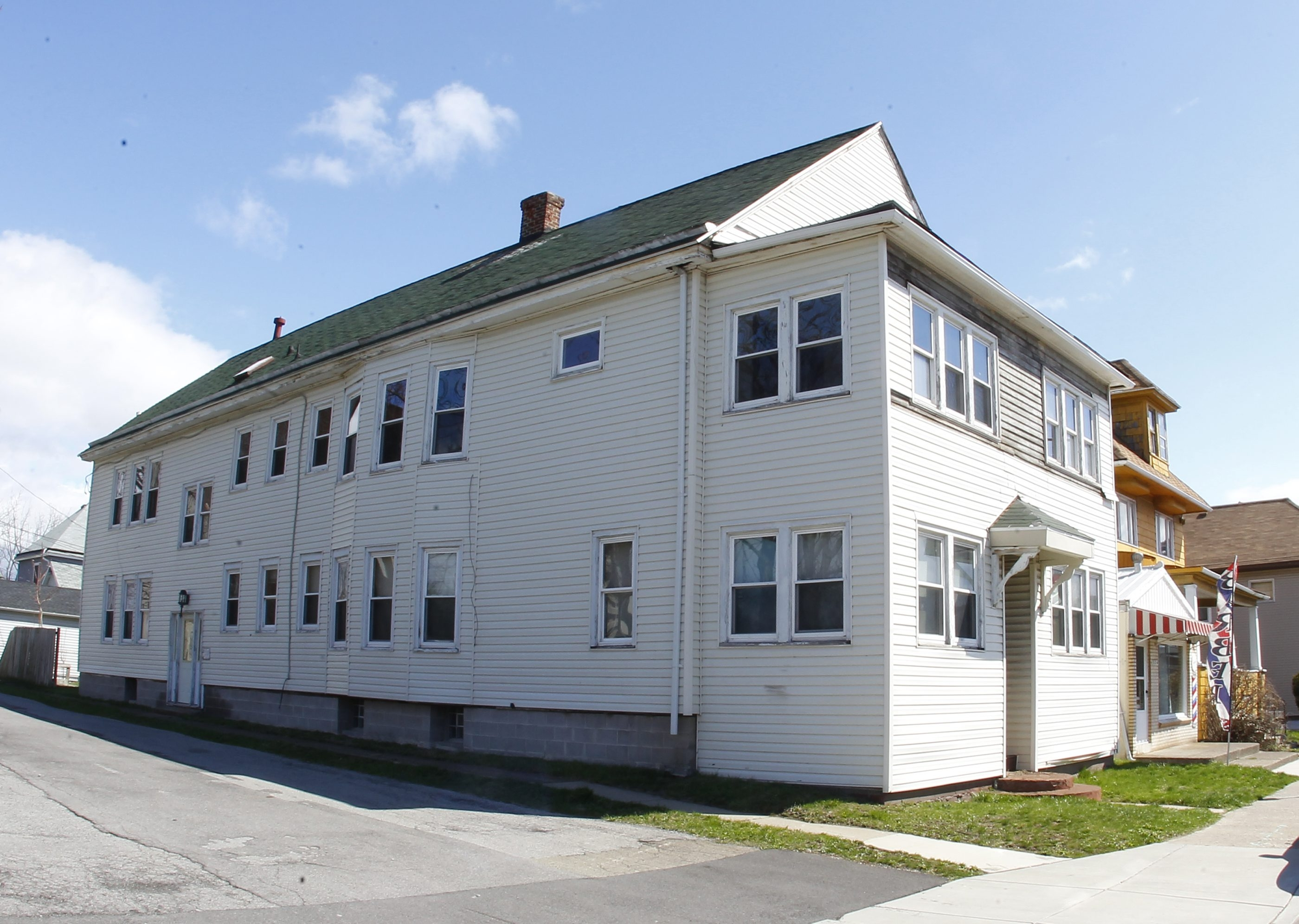 This apartment building at 622 Ridge Road , Lackawanna, has been vacant for about a decade.