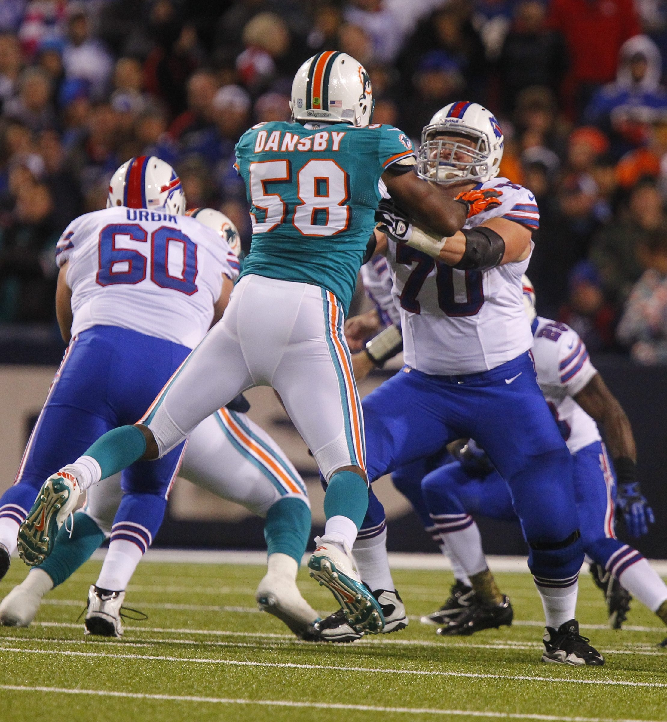 """Bills center Eric Wood says having more pressure on him to be a leader this year """"is a role I'm comfortable with."""""""