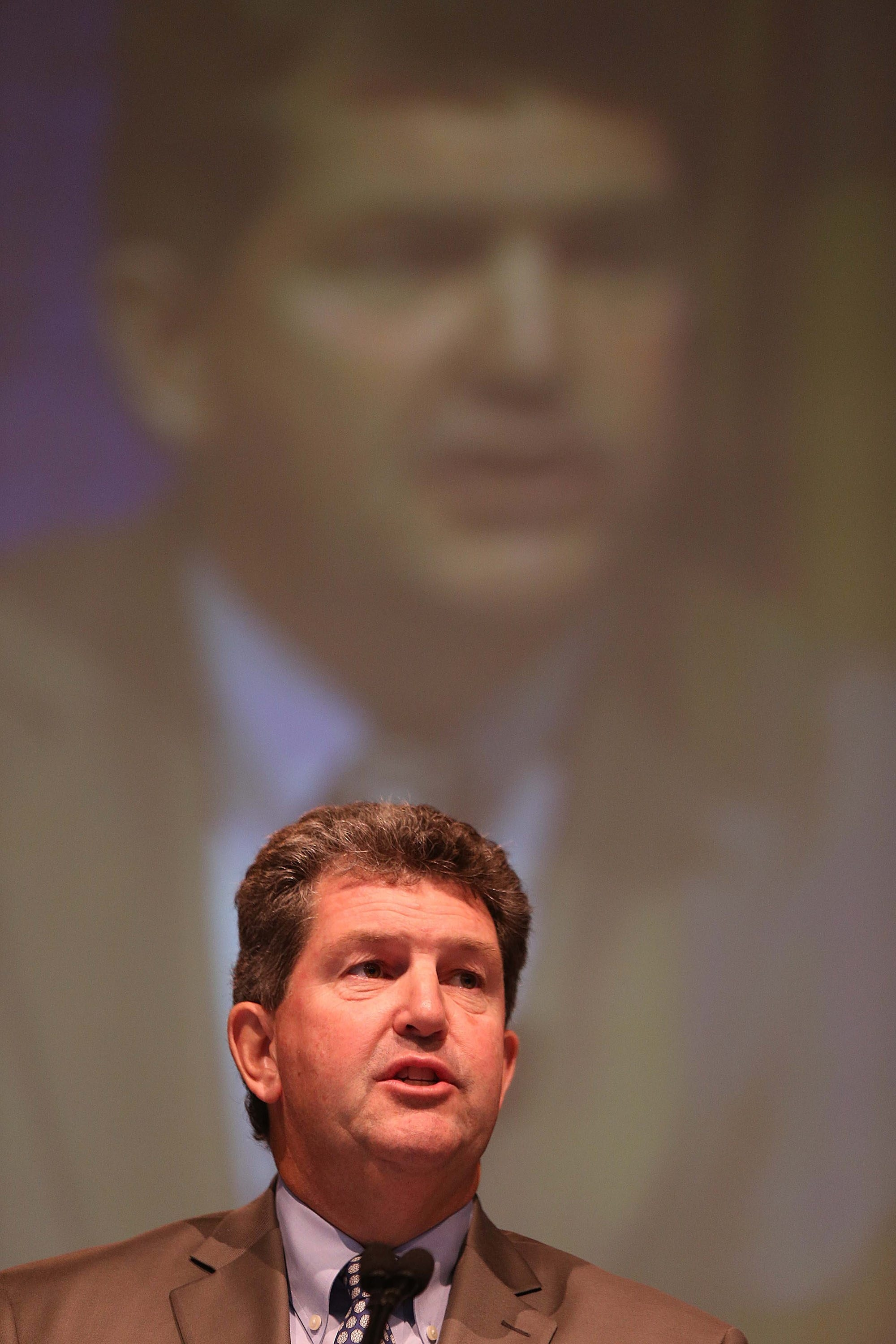 Postmaster General Patrick Donahoe  dodged initial question.