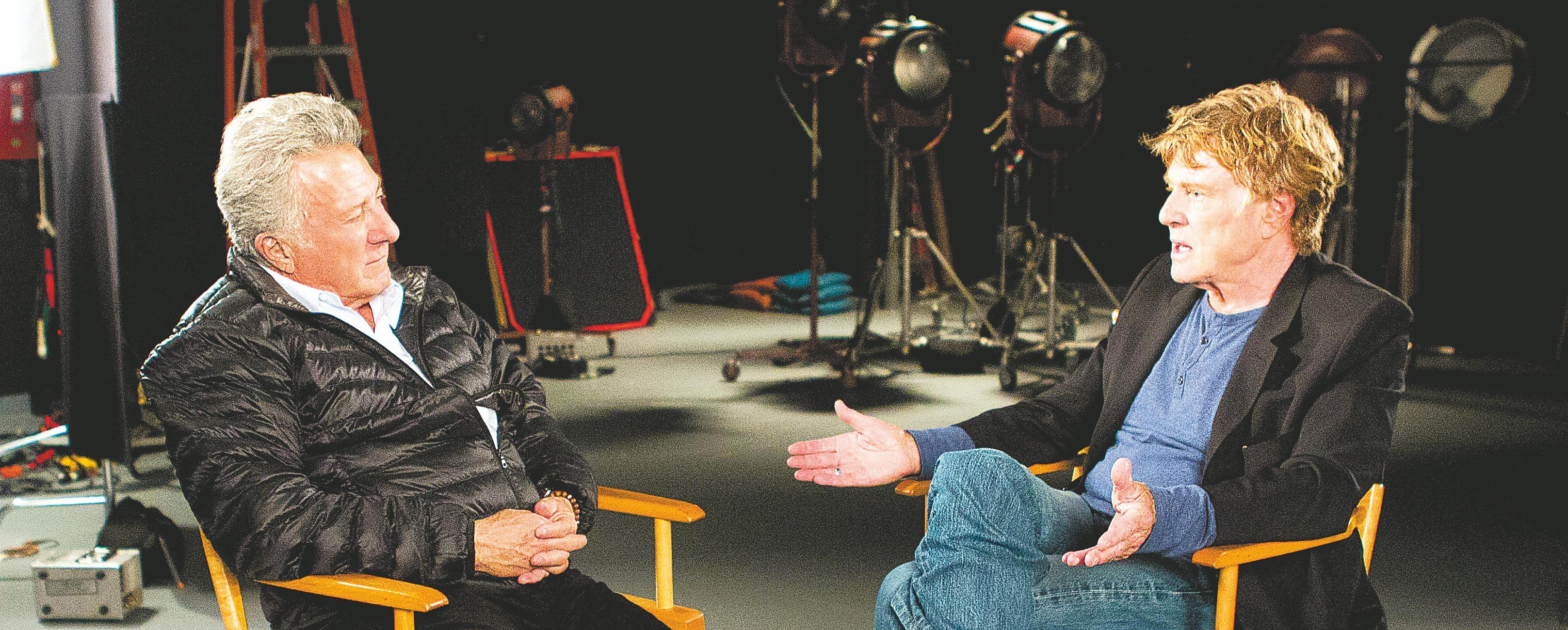 Dustin Hoffman and Robert Redford .