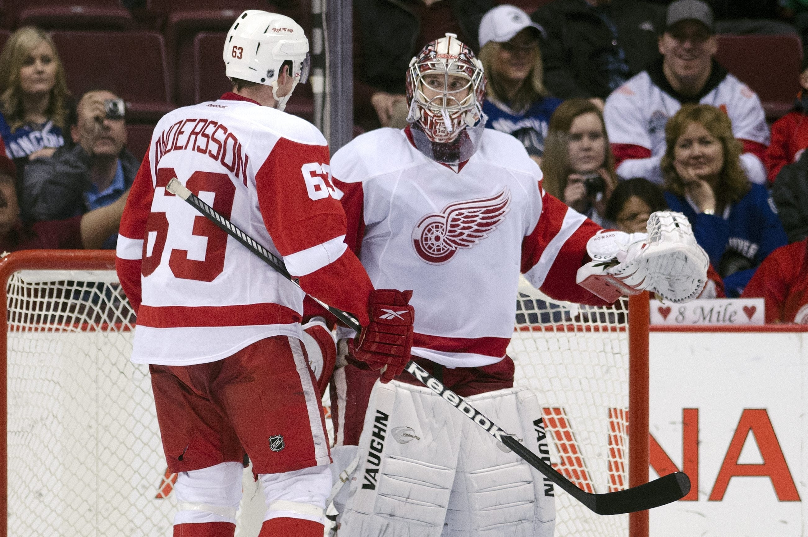 With Red Wings goalie Jimmy Howard in line for a new contract which would average $5.3 million per season, the odds of the Sabres' Ryan Miller returning to his home state of Michigan to play have become slim.