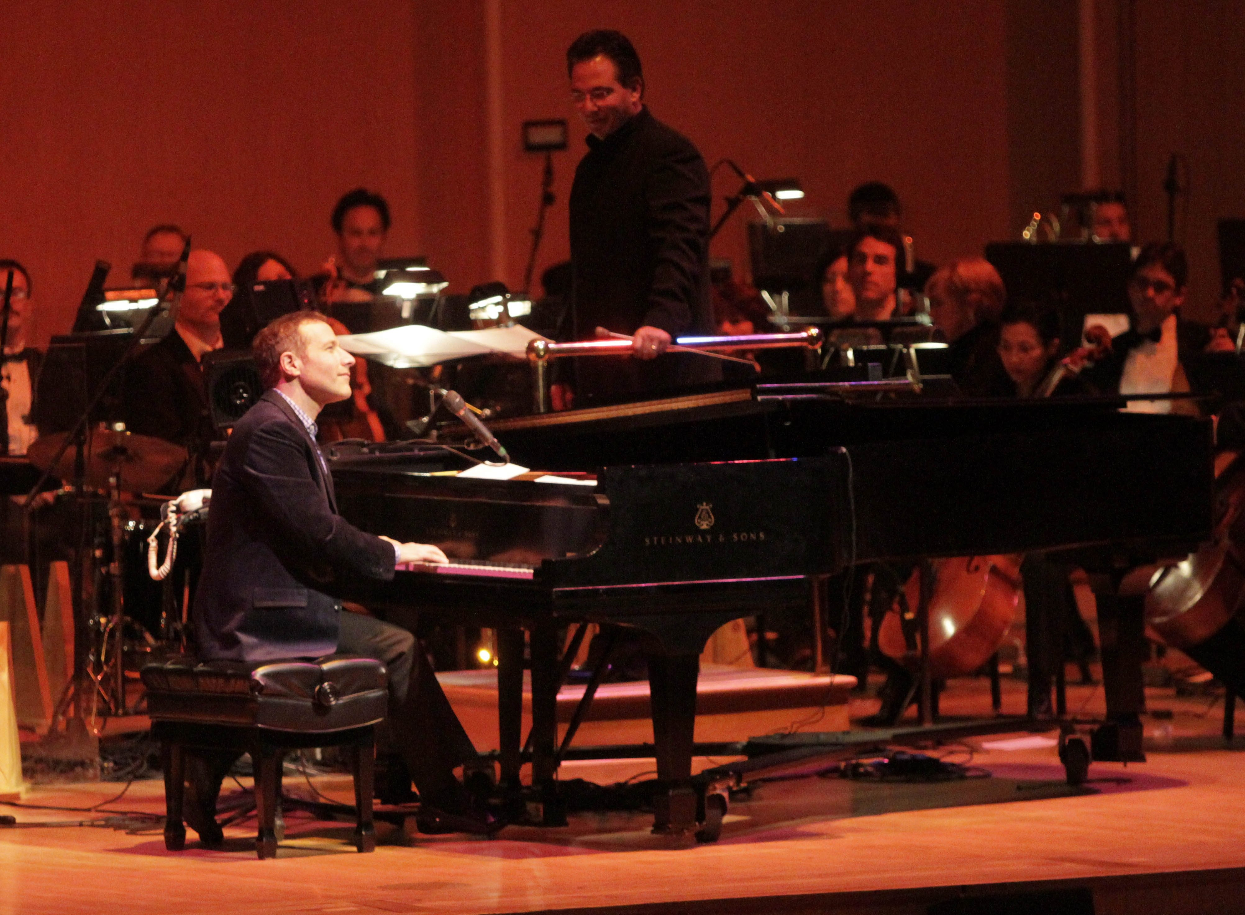Jim Brickman performs Saturday with the Buffalo Philharmonic Orchestra in Kleinhans Music Hall.