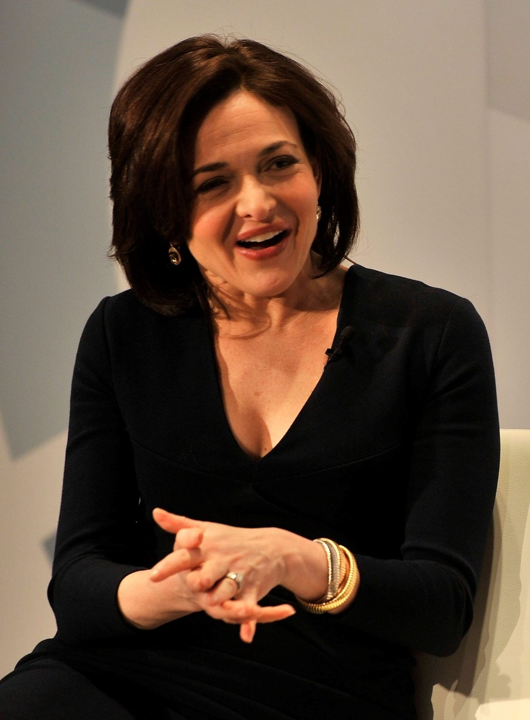 Sheryl Sandberg addresses the dearth of women in leadership posts.