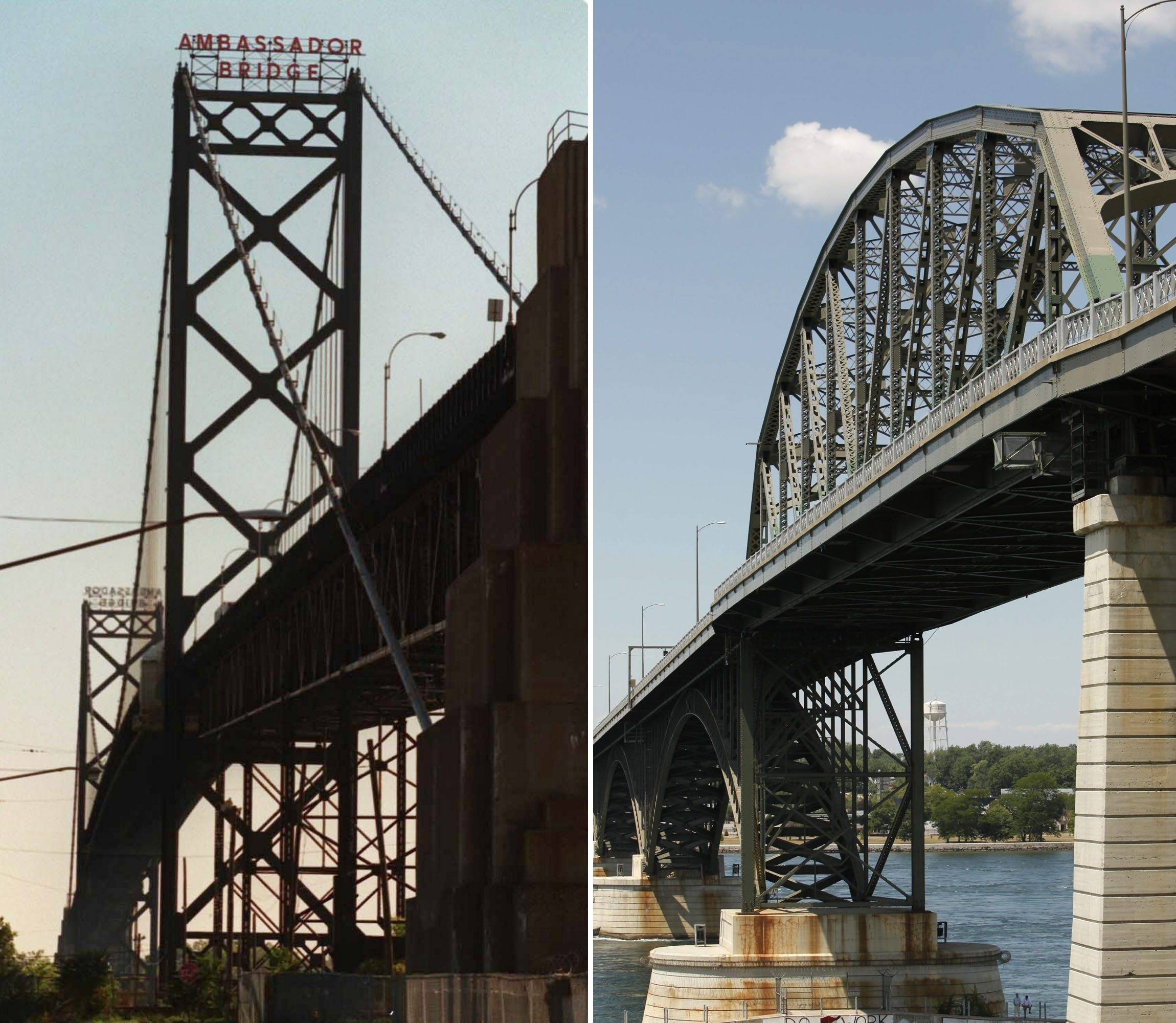The round-trip passenger toll for the Ambassador Bridge that connects Detroit and Windsor, Ont., is $9.50 compared with the toll for the Peace Bridge, which is $2.70.