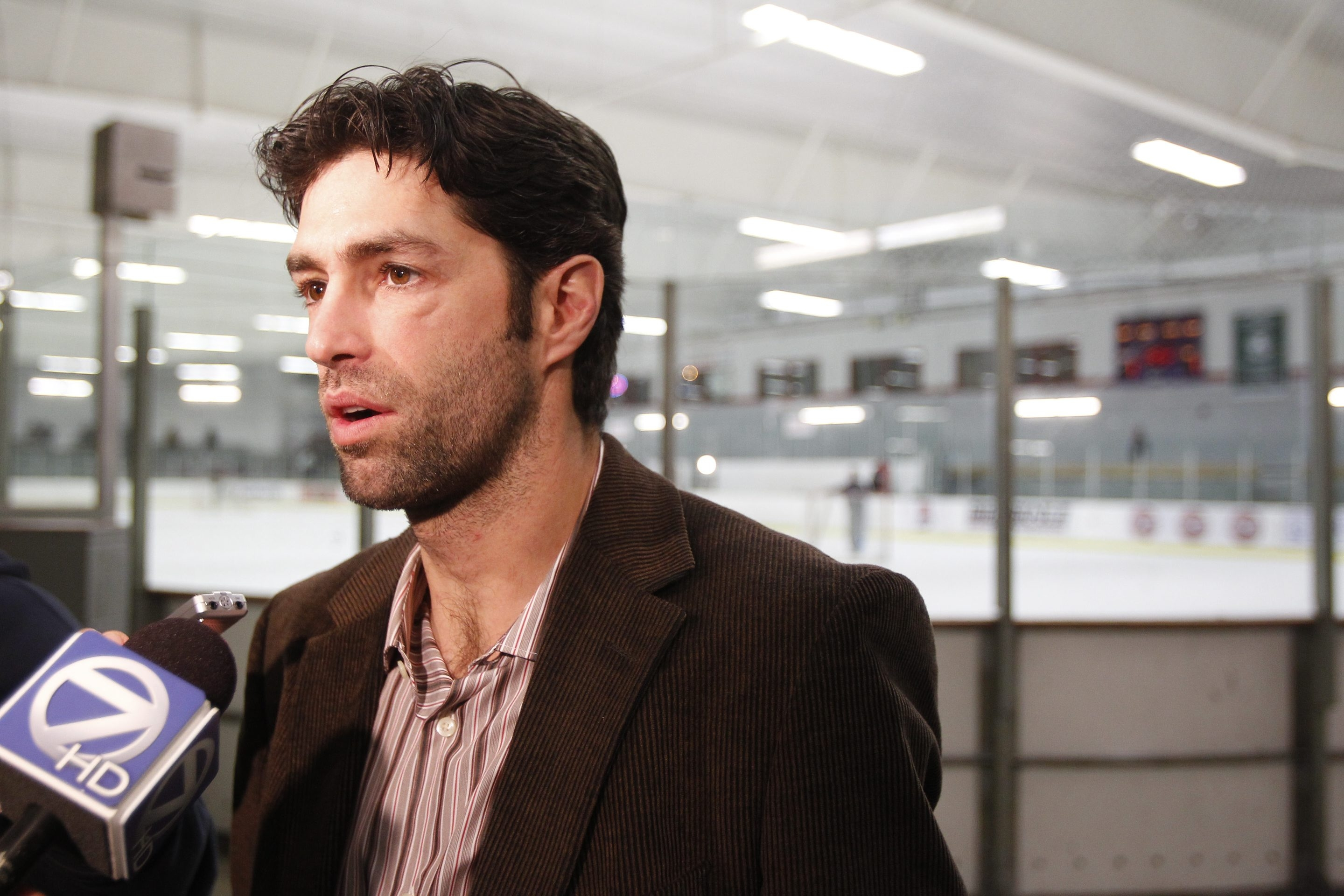 Michael Peca is passionate about making the region a hockey hotbed.