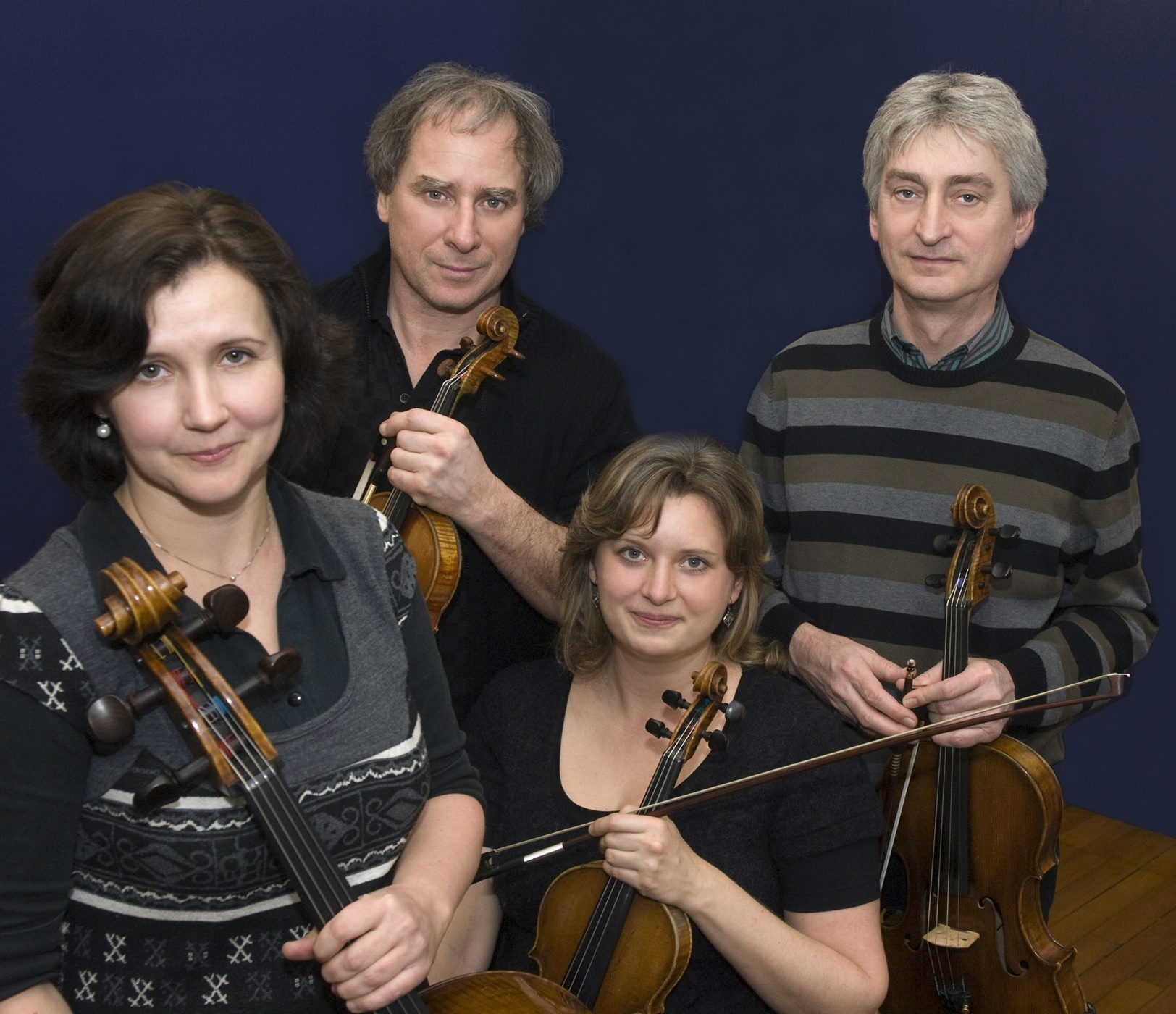 The Keller Quartet plays music by Shostakovich, Mozart and Tchaikovsky on Tuesday.