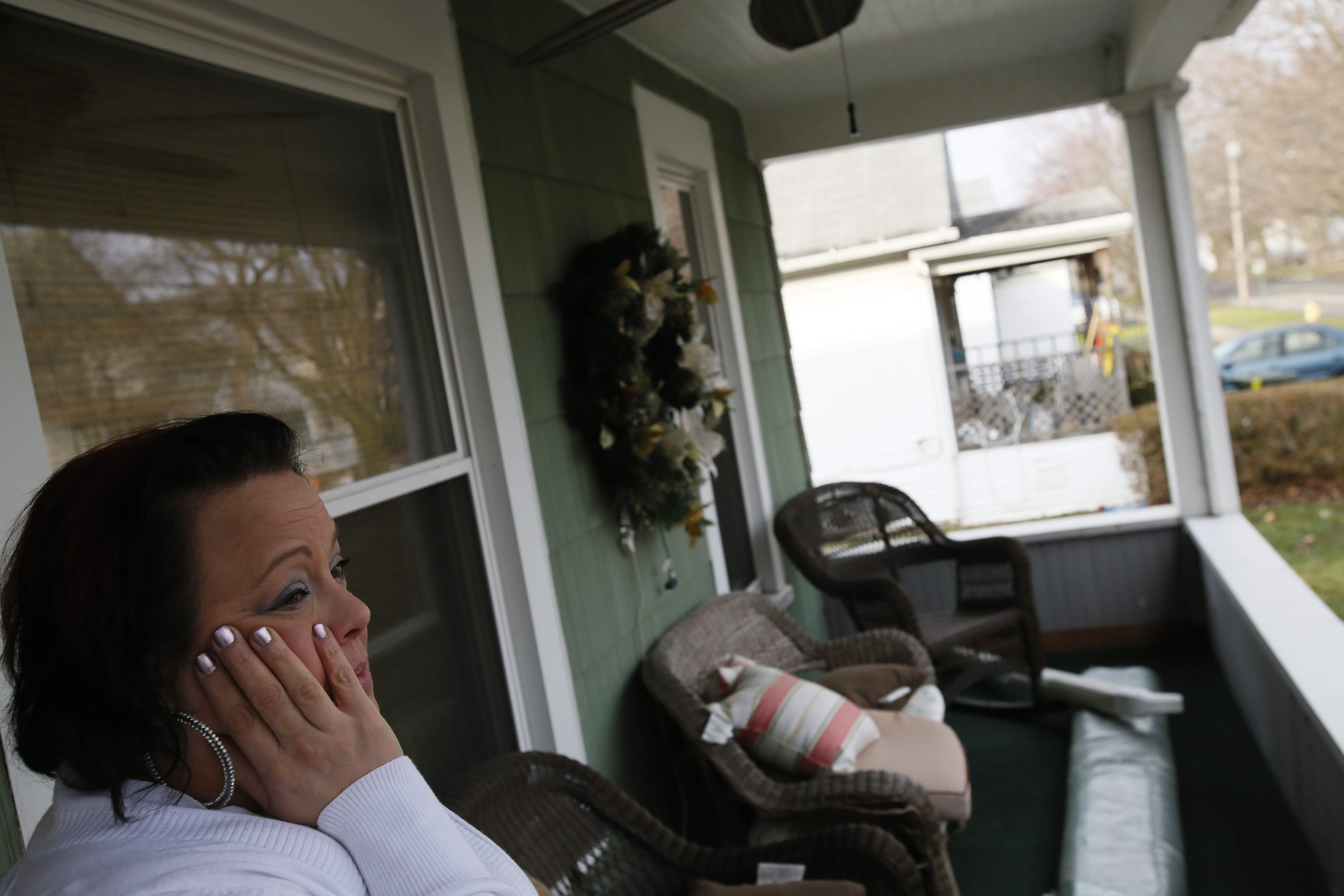 Krista Lisi, who lives next to the house on Third Avenue in North Tonawanda where  Dorothy Burns, 84, and Kathleen Watson, 62, died, said the women kept to themselves.