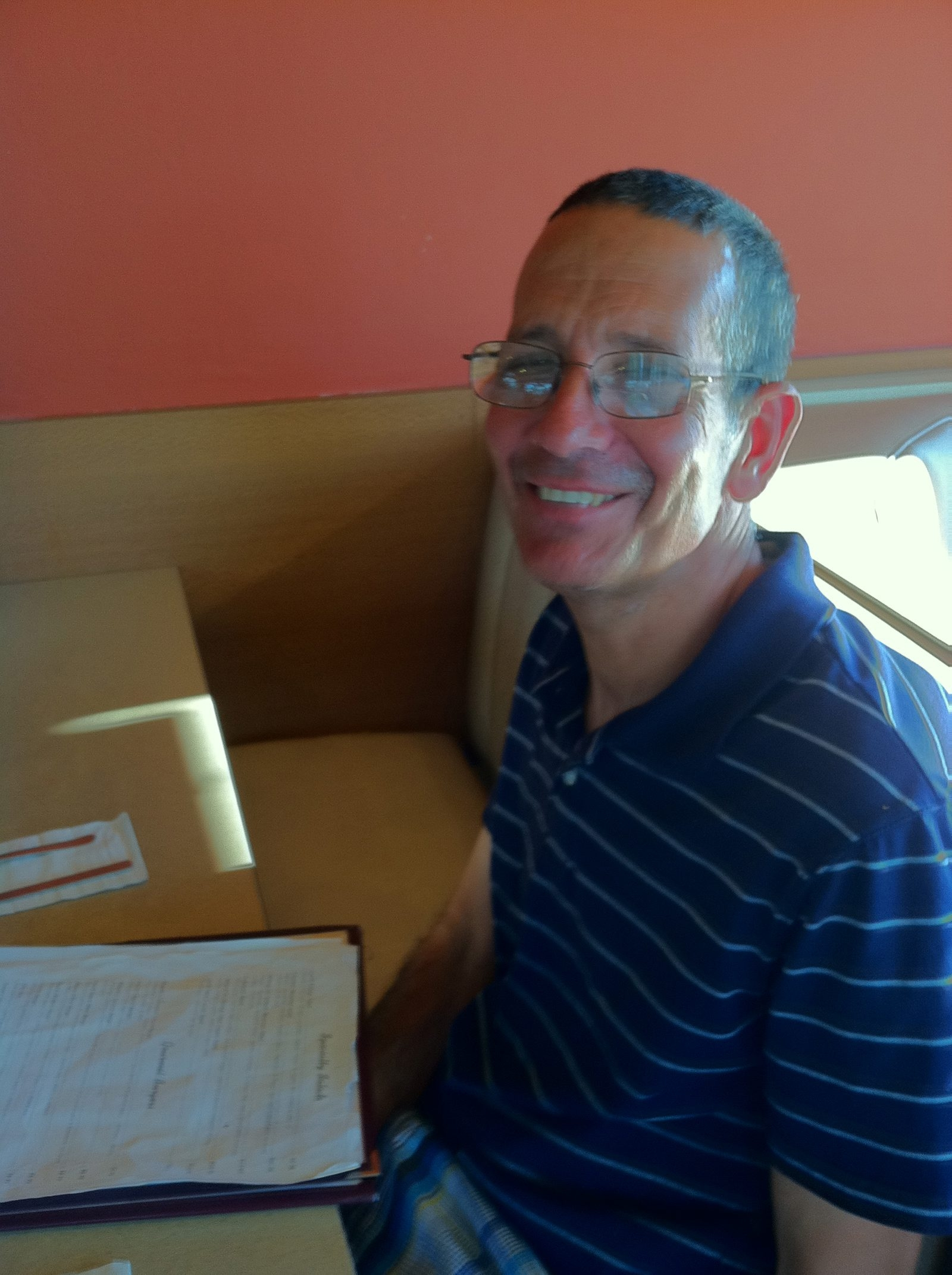 Marc Weinfeld, savant with gift for numbers, rode bus from Elma each day, aglow with friendship.