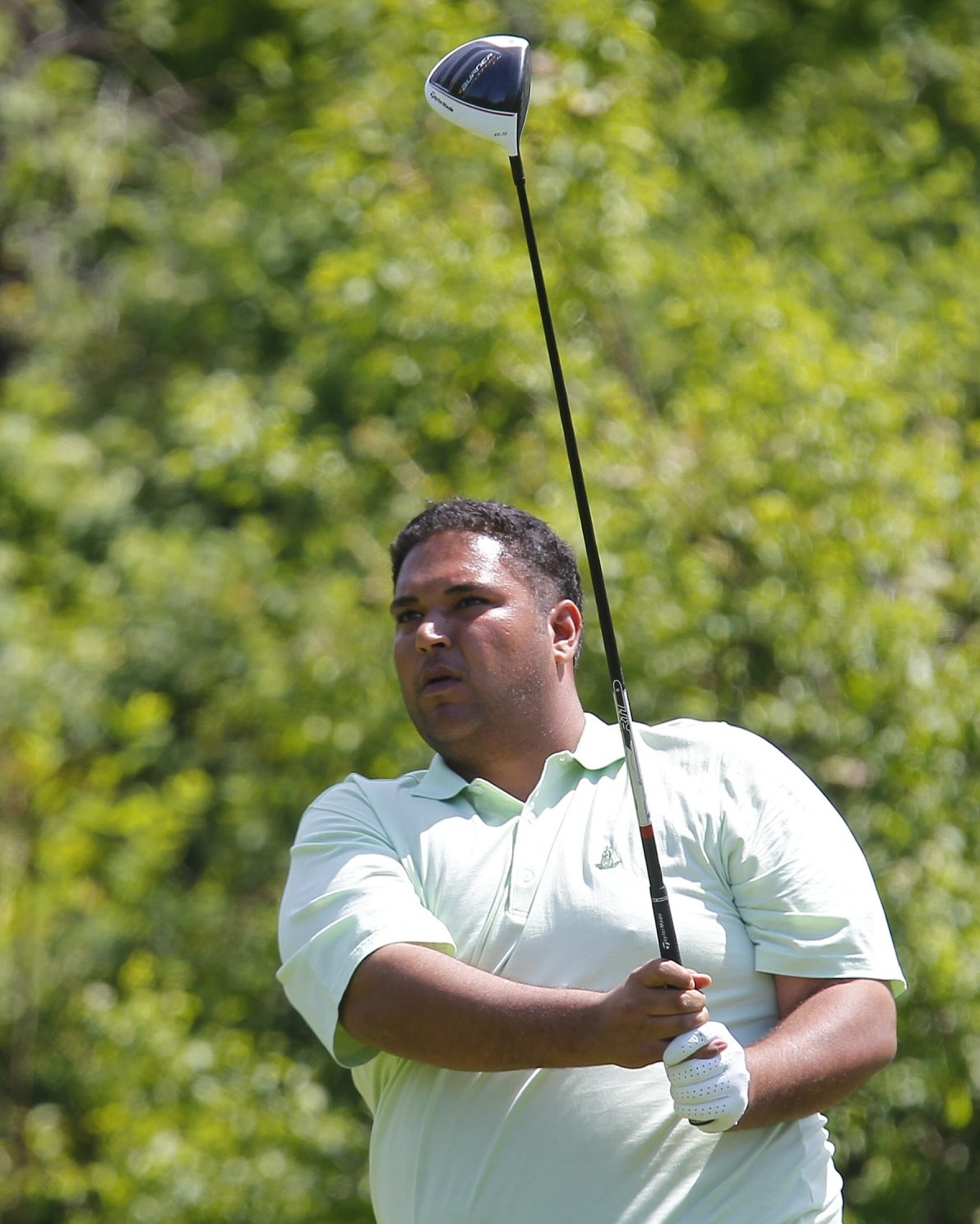 Defending Buffalo District champion Raman Luthra averages between 255-265 yards on his tee shots.