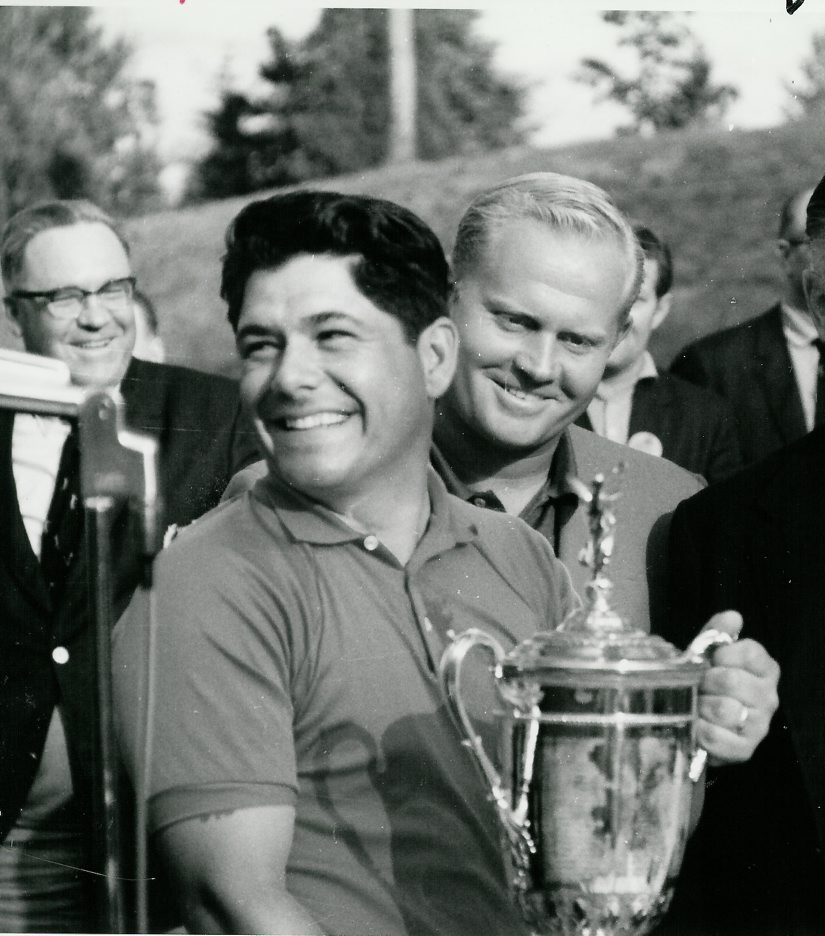 Lee Trevino won the 1968 U.S .Open, beating Jack Nicklaus by four shots.