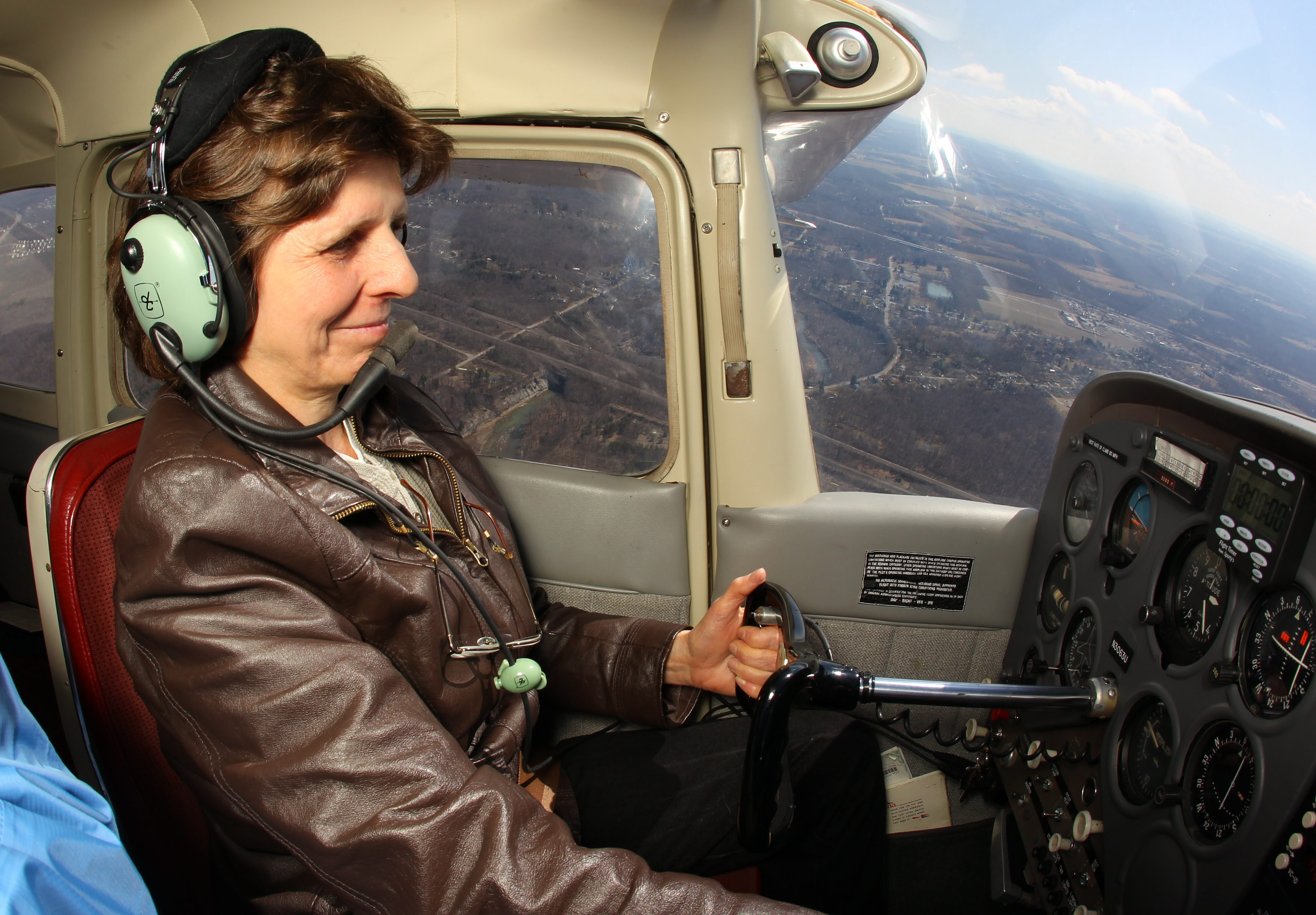 Claudia Childs began Little Bird Airways after retiring from Buffalo Police Department and buying a plane.