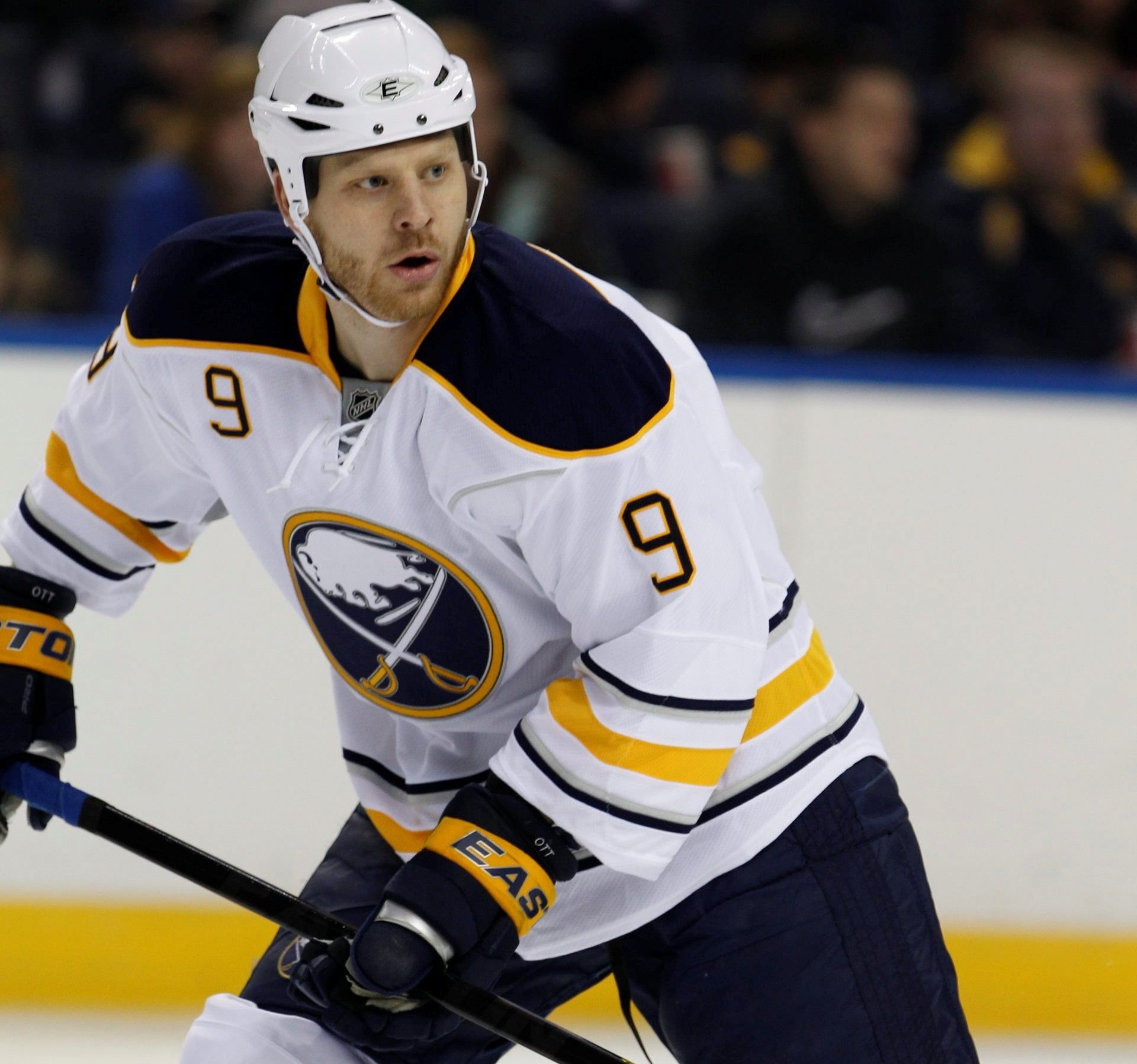 Sabres forward Steve Ott talked about fans booing this morning on WGR. (Harry Scull Jr./Buffalo News file photo)