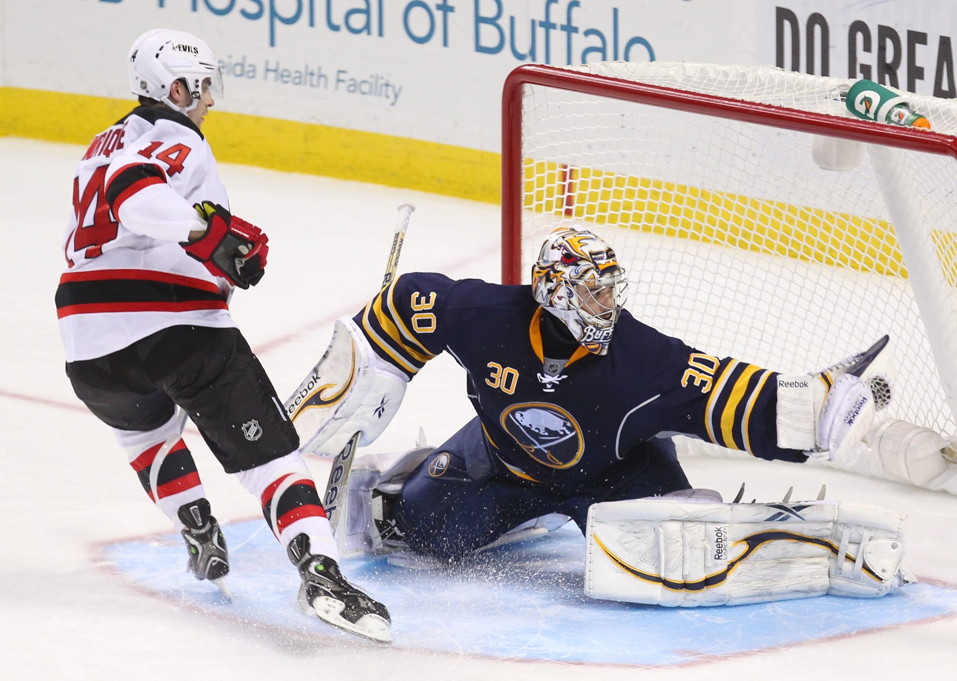 Ryan Miller has posted a .948 save percentage in his last three games.