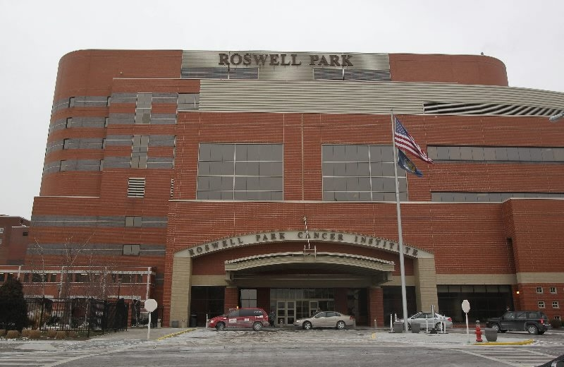 Roswell Park Cancer Institute faces drastic cuts in cancer research funding. (Mark Mulville / Buffalo News)