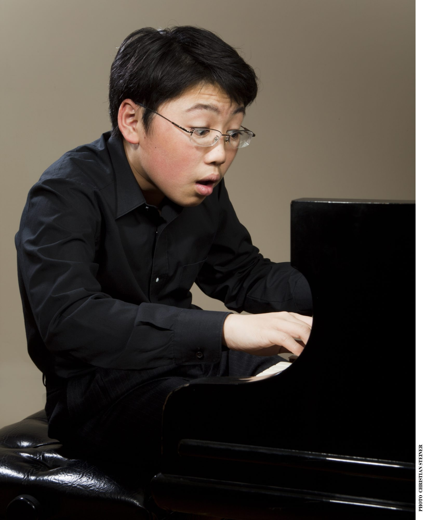 George Li, 17, is on his way to becoming a world-class pianist.