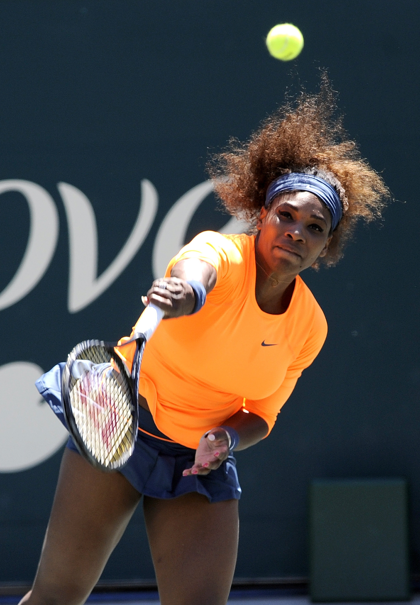 Professional tennis players like Serena Williams are successful because they know what shot to hit at the right time.