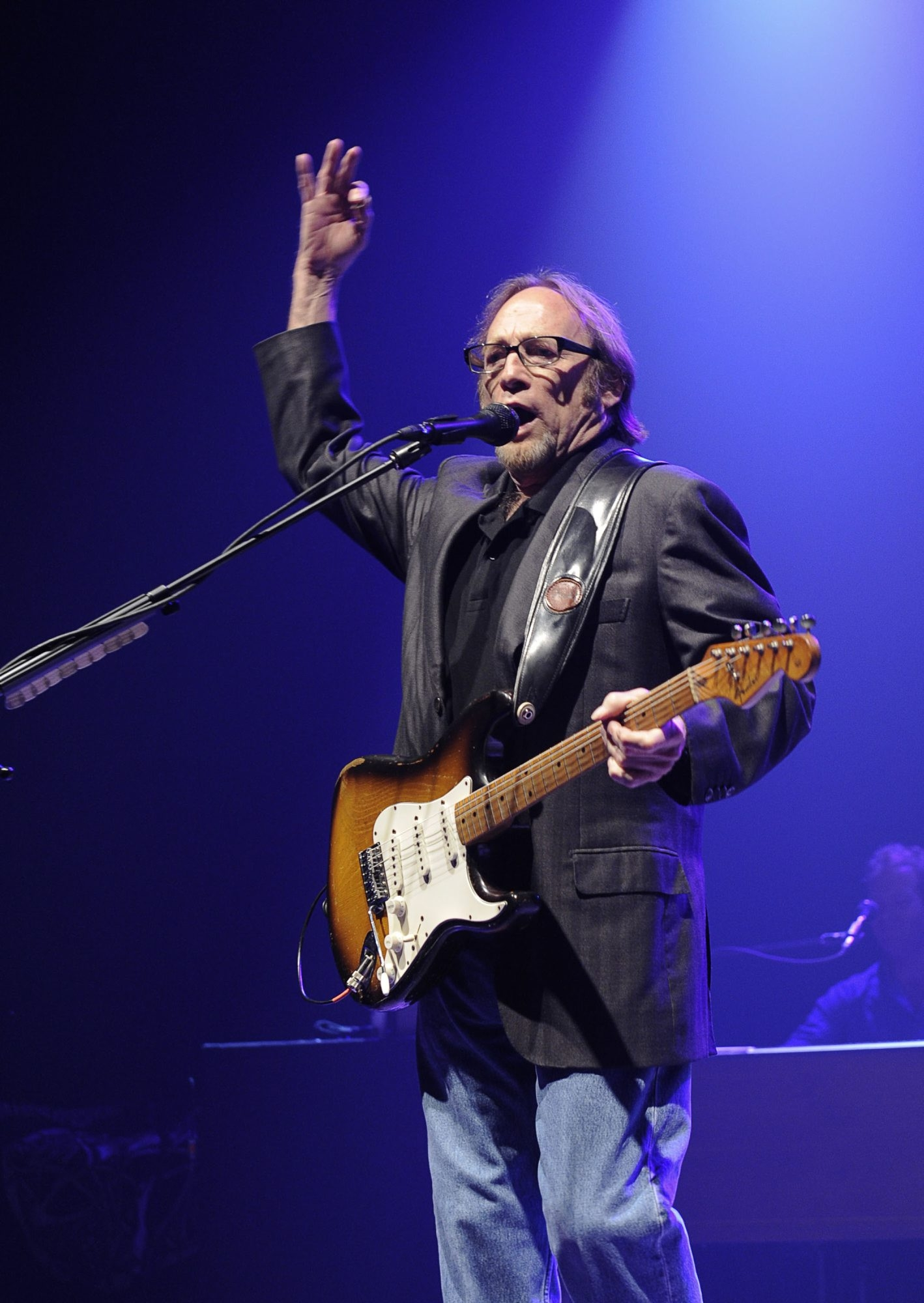 "Stephen Stills is still performing; ""Carry On"" shows him at his musical peak, before 1972."