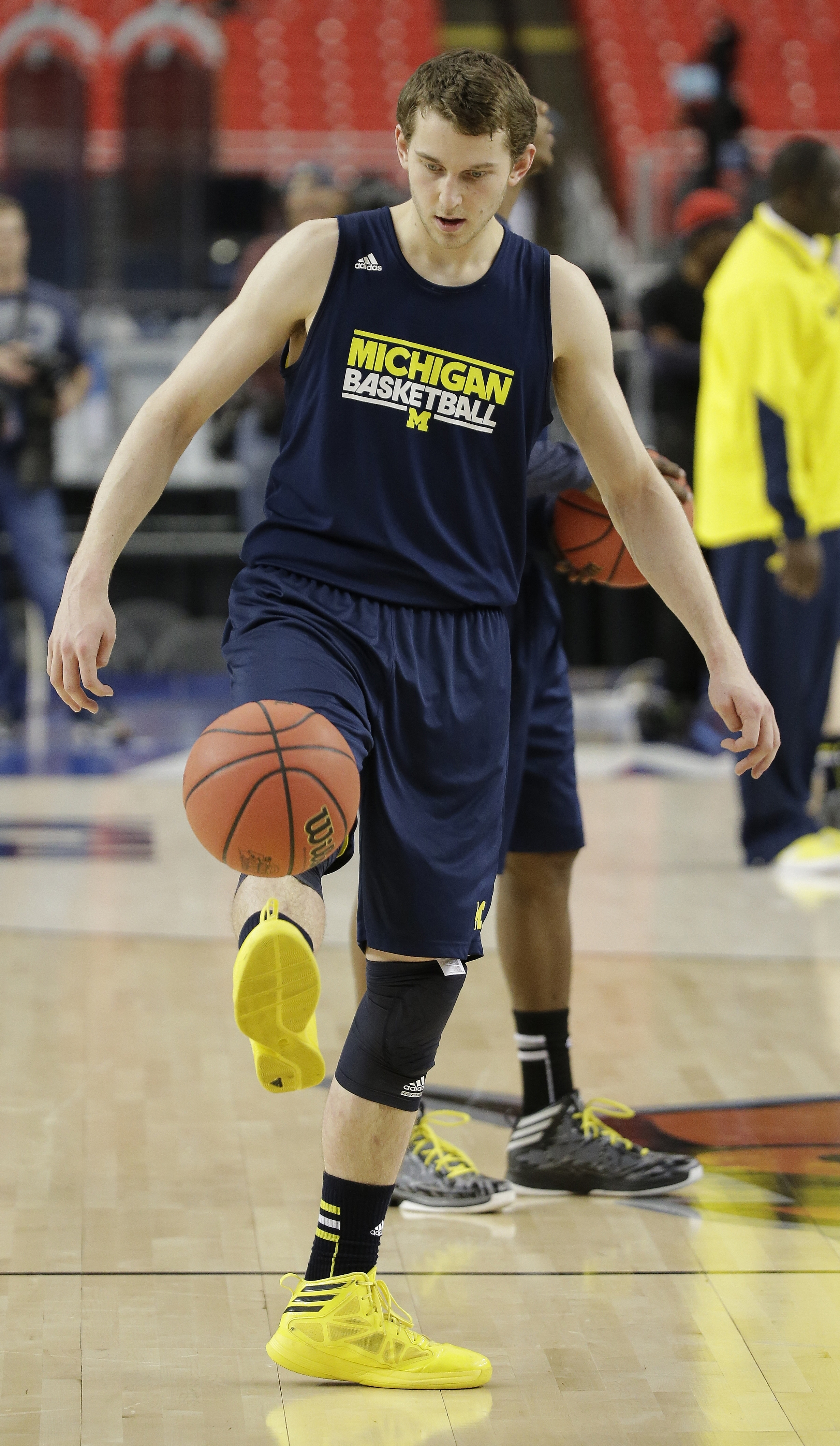 Michigan's Nik Stauskas is one of three Final Four players to hail from Ontario.