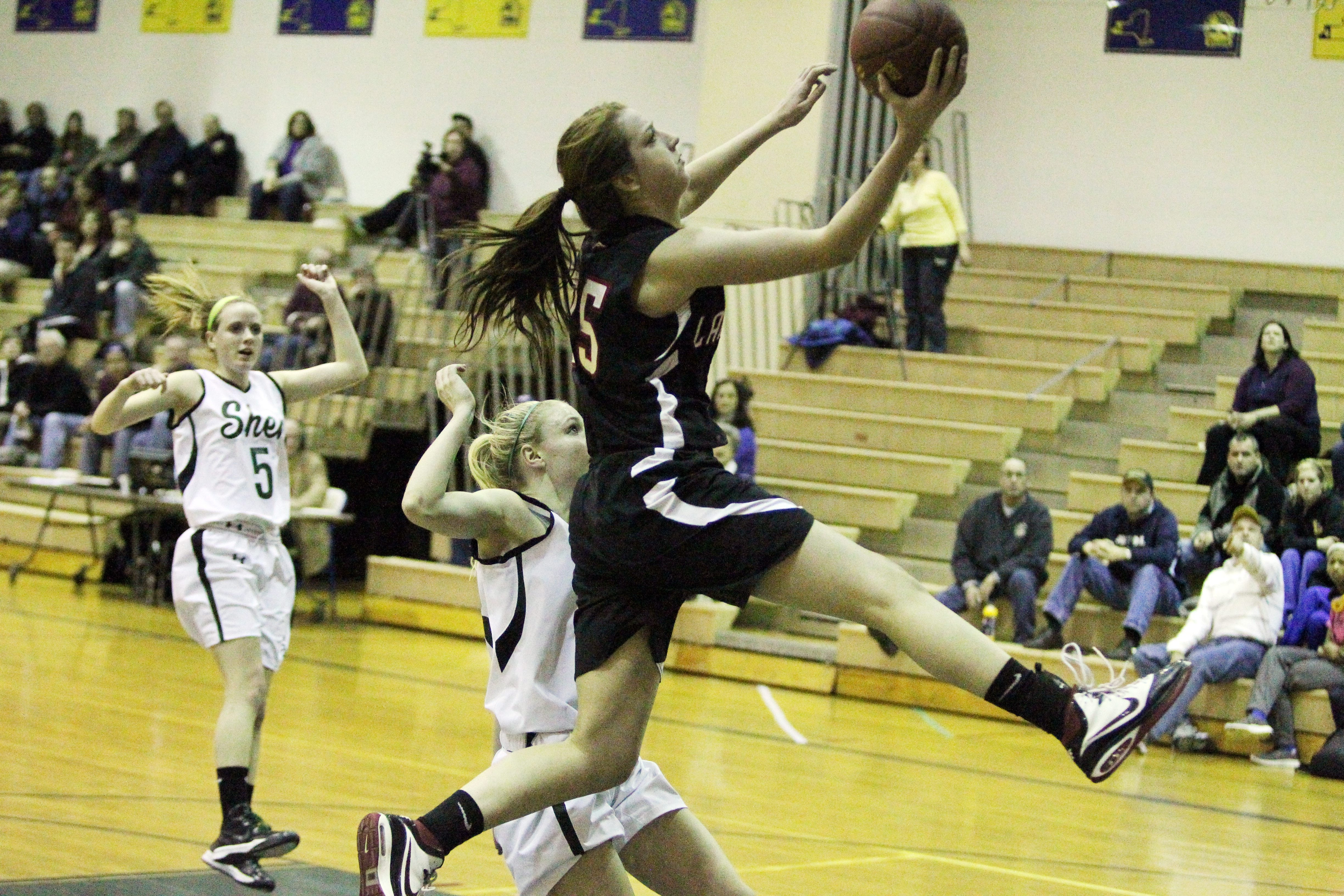 Katie Healy, the 2012 News Player of the Year from Lancaster, now plays at St. Bonaventure.