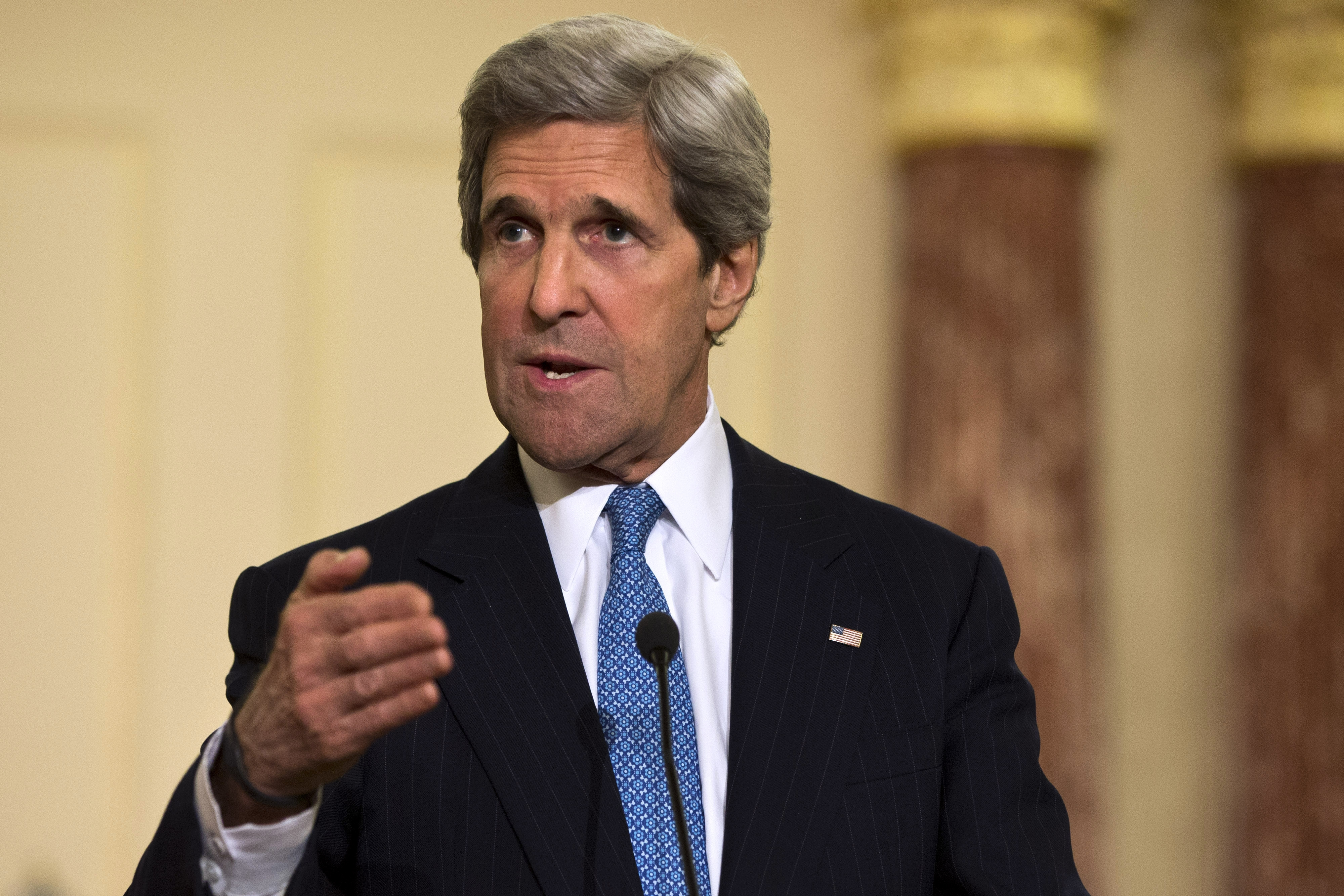 Secretary of State John F. Kerry is due in the region this weekend.