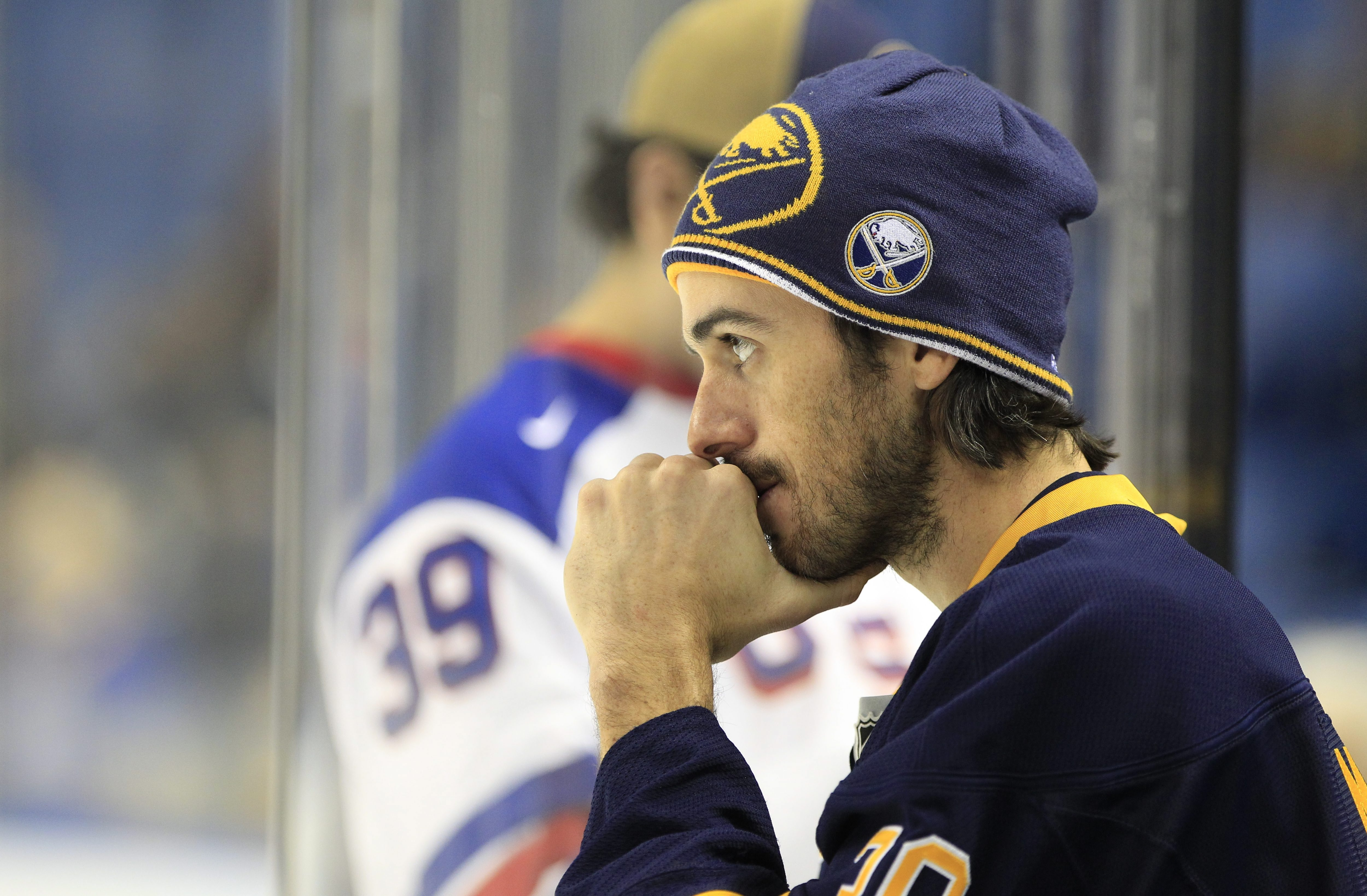 """""""It's something I haven't had a chance to talk to him about and certainly something I can't speculate on because I've never known what Darcy's going to do.""""  — Ryan Miller"""