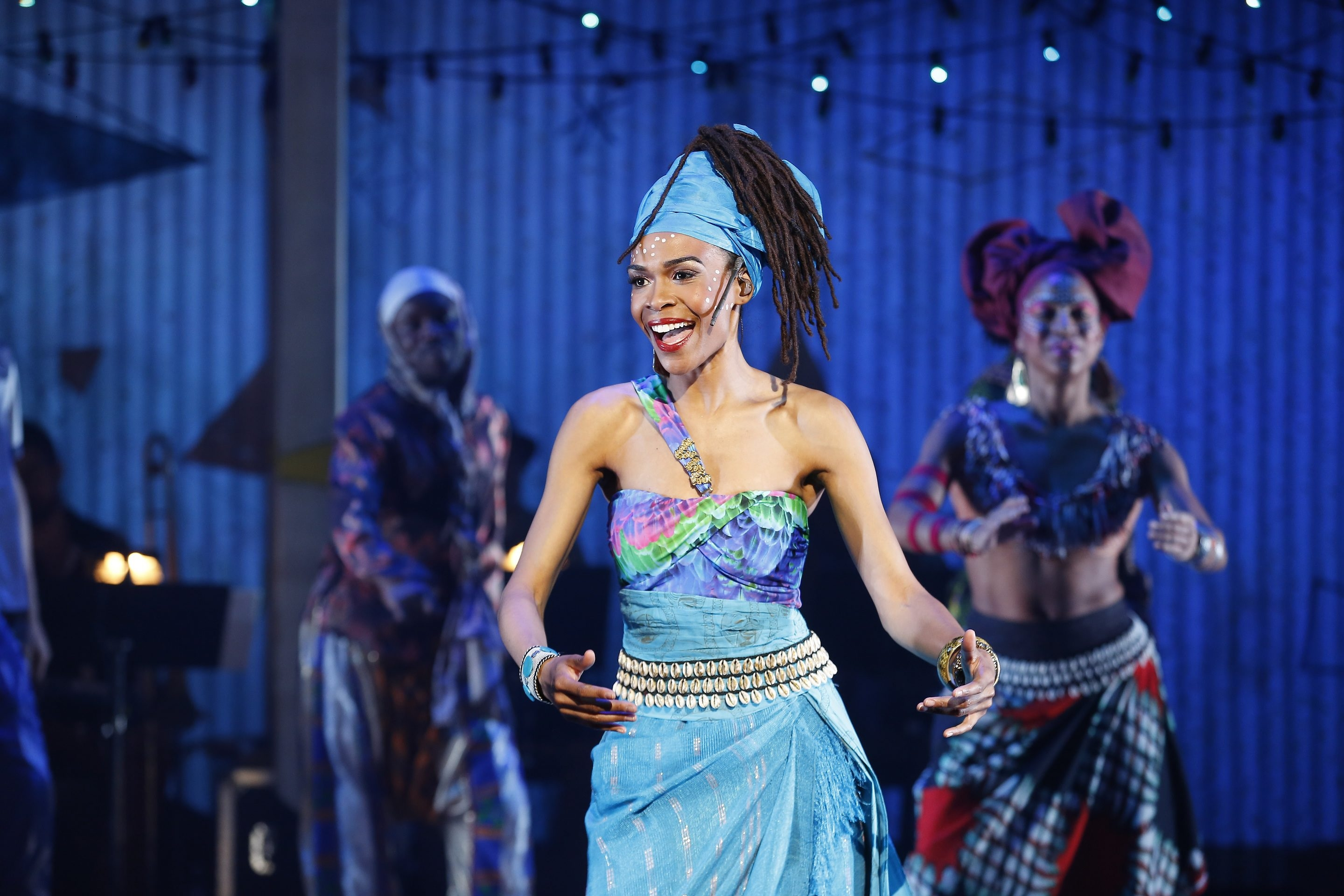 "Michelle Williams of Destiny's Child stars in ""Fela!"" coming to the Shea's Performing Arts Center stage Friday and Saturday."