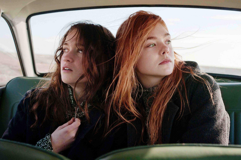 Alice Englert and Elle Fanning star in 'Ginger & Rosa.'