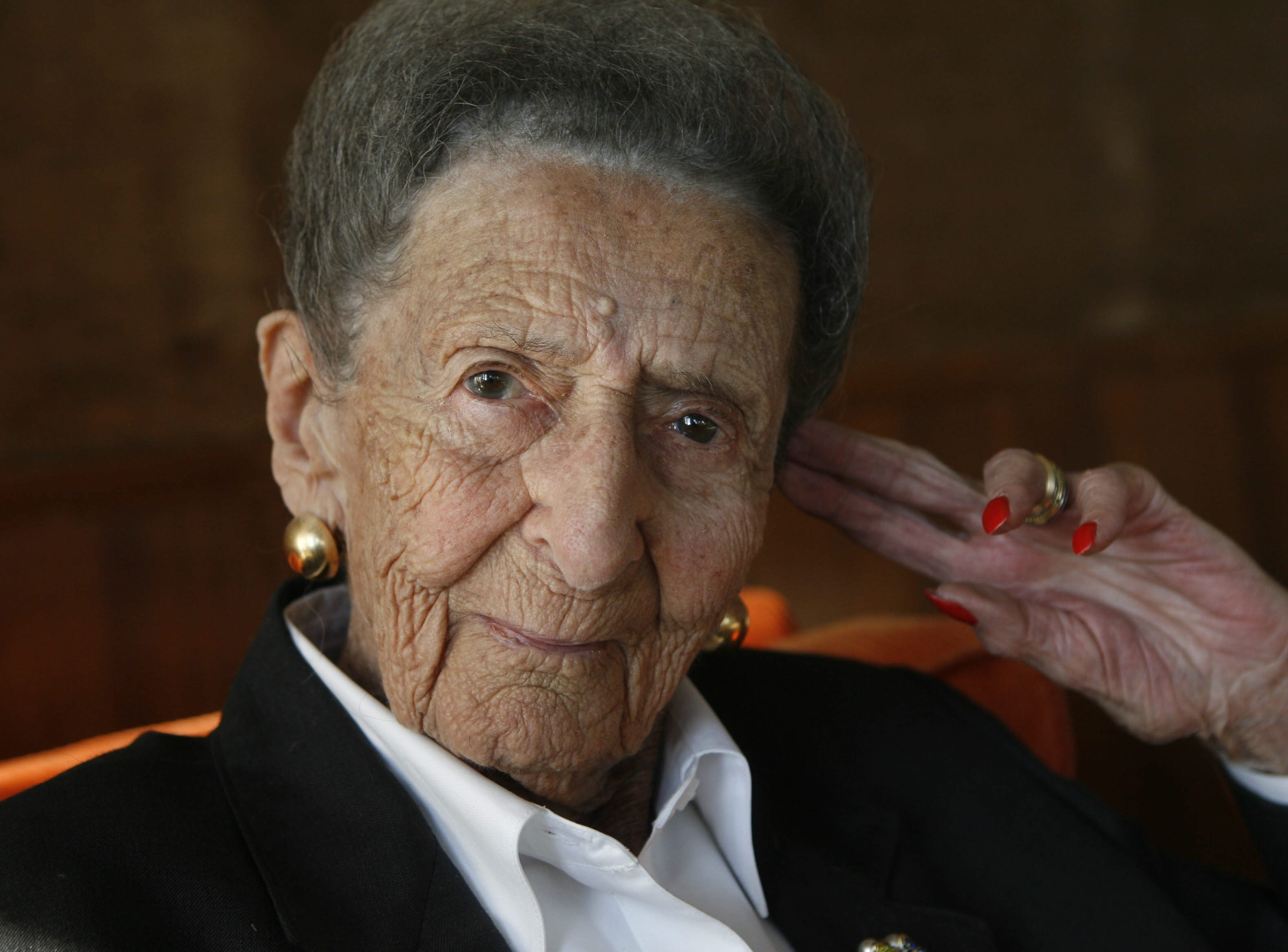 Hertha Ball died Sunday at age 103 in the Clarence farmhouse that was a large part of her life.